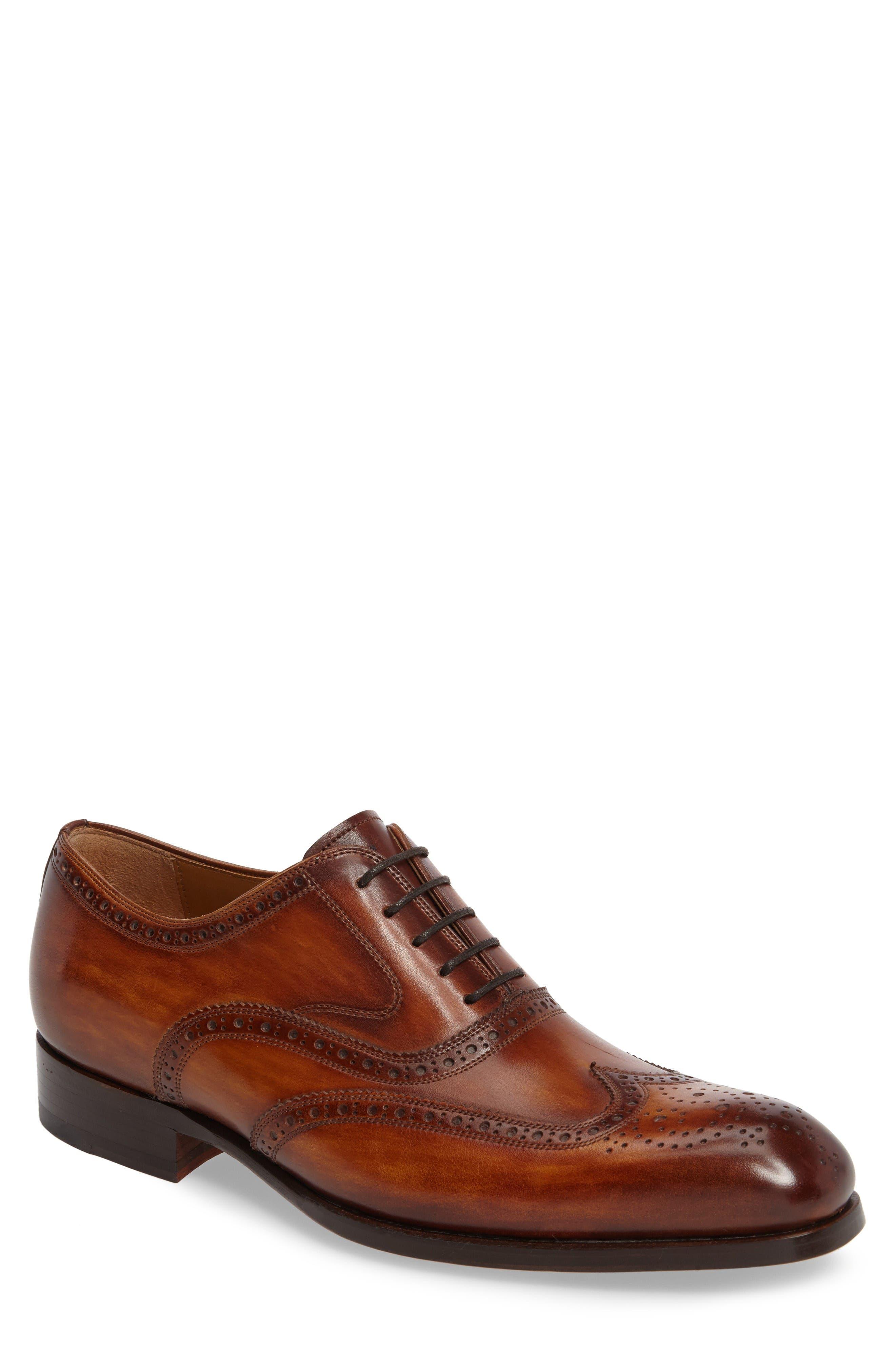 Victorio Wingtip,                             Main thumbnail 1, color,                             Cuero Leather