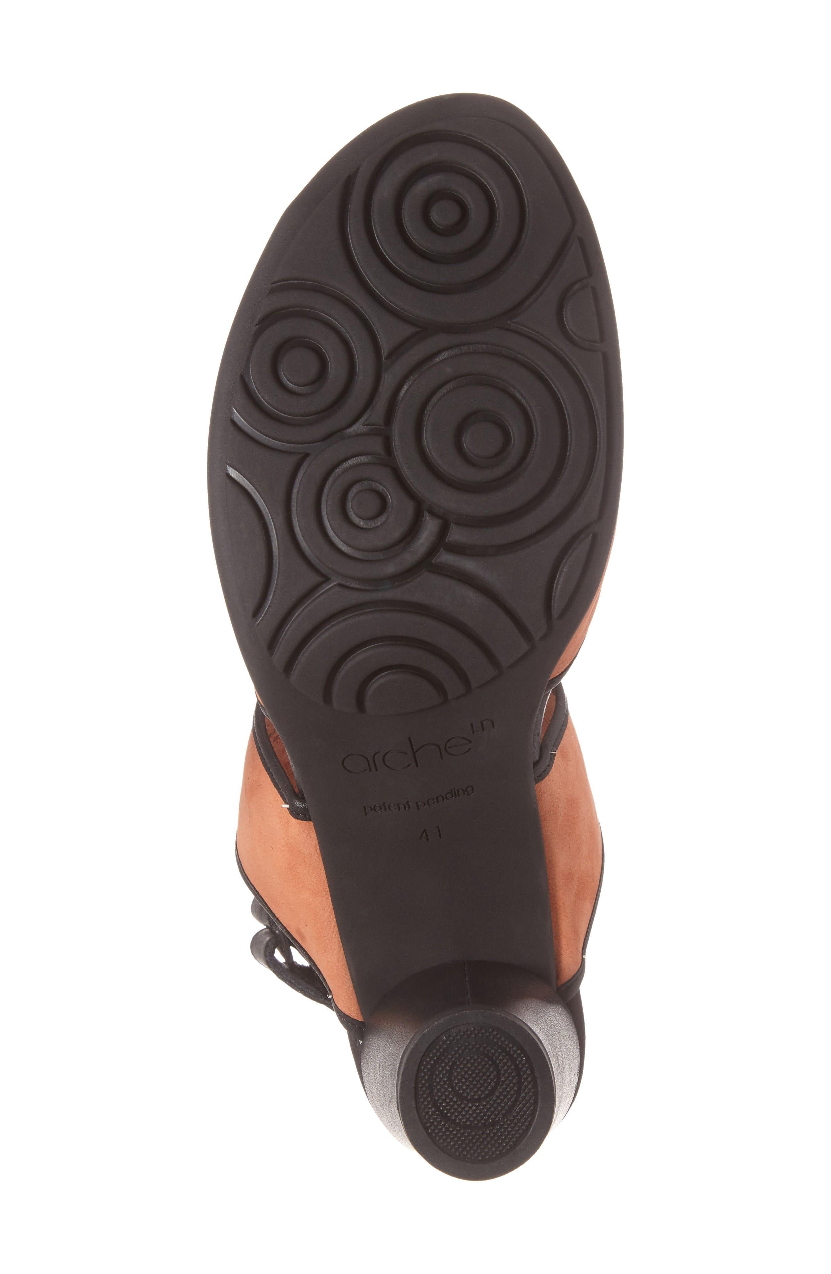 Leiga Sandal,                             Alternate thumbnail 6, color,                             Morgane Nubuck Leather