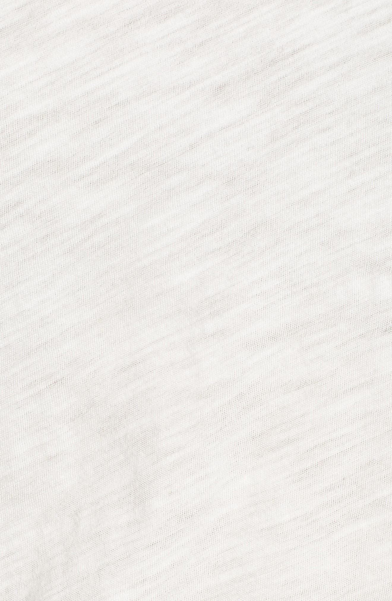 Whisper Cotton Tank,                             Alternate thumbnail 5, color,                             White Wash