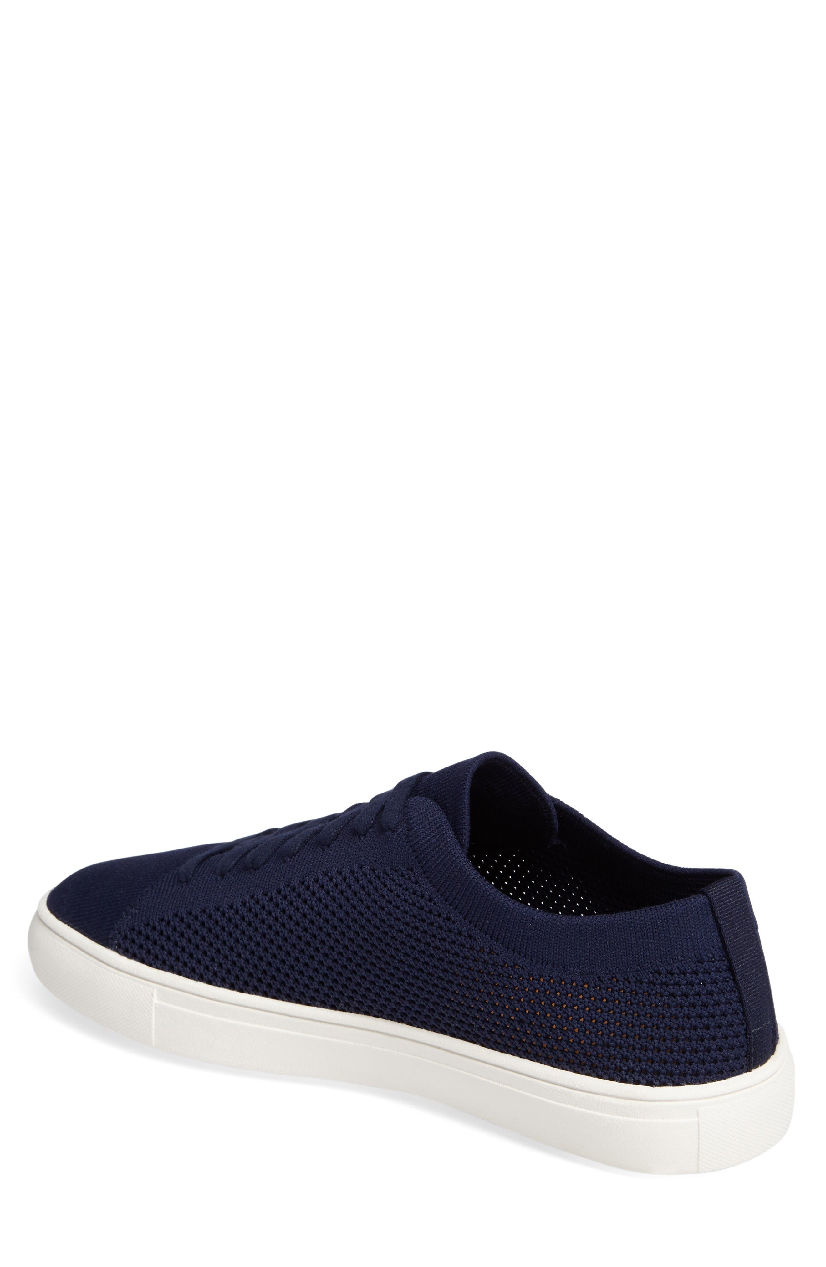 On the Road Woven Sneaker,                             Alternate thumbnail 2, color,                             Navy