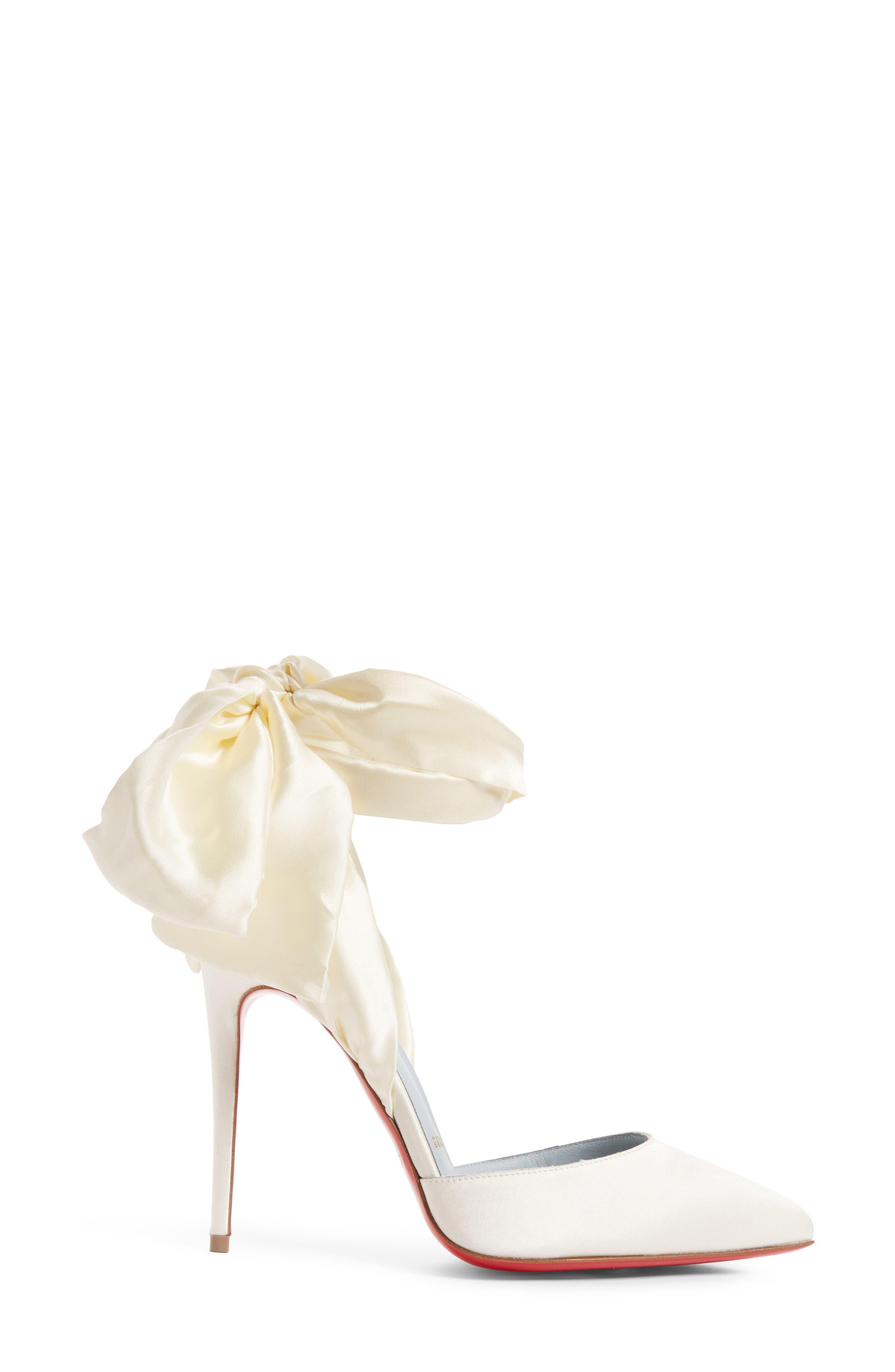 Alternate Image 3  - Christian Louboutin Douce Du Desert Ankle Tie Pump (Women)