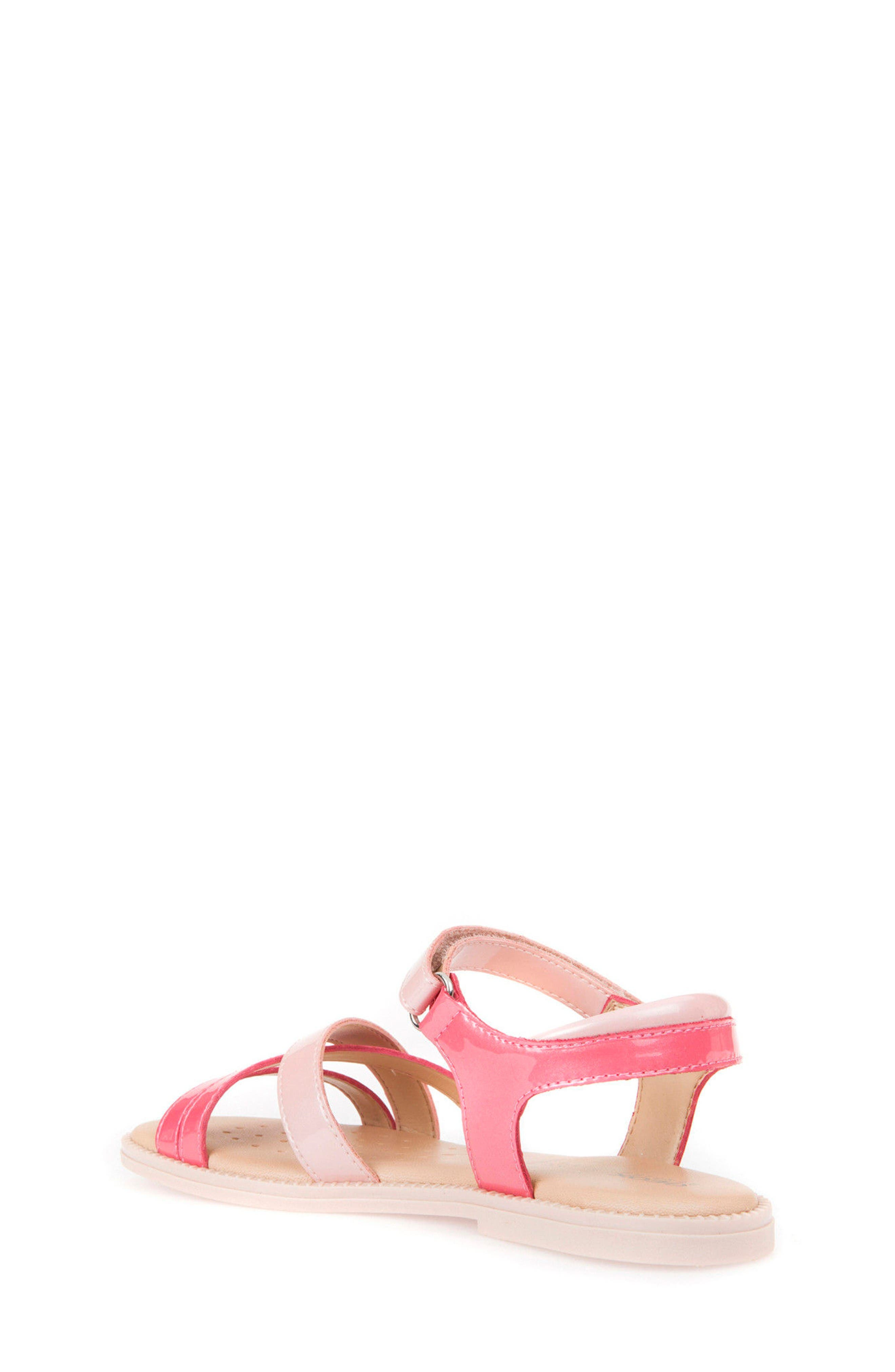Karly Girl Sandal,                             Alternate thumbnail 2, color,                             Light Coral/ Rose