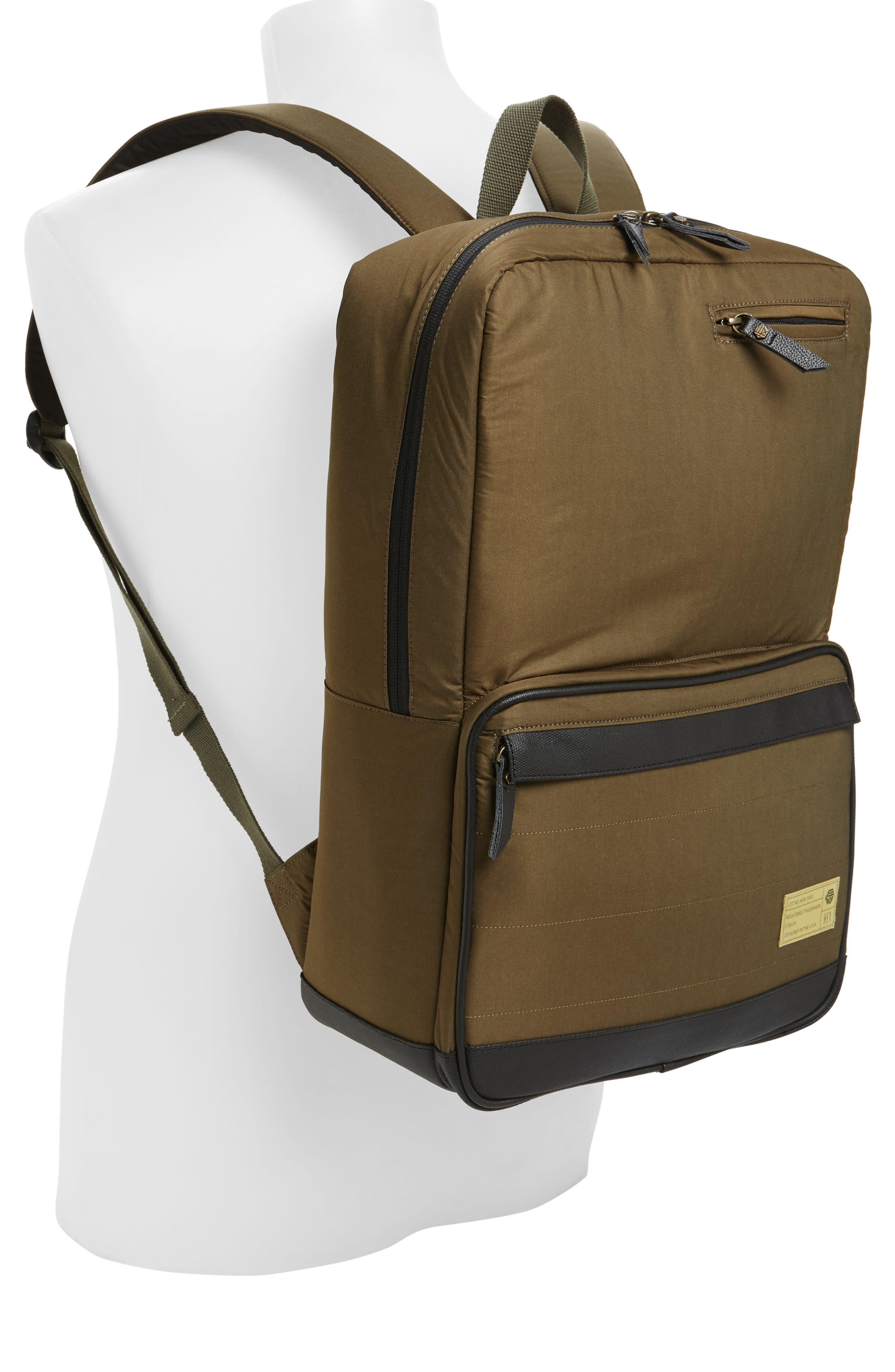 Alternate Image 2  - HEX Radar Origin Water Resistant Commuter/Travel Laptop Backpack