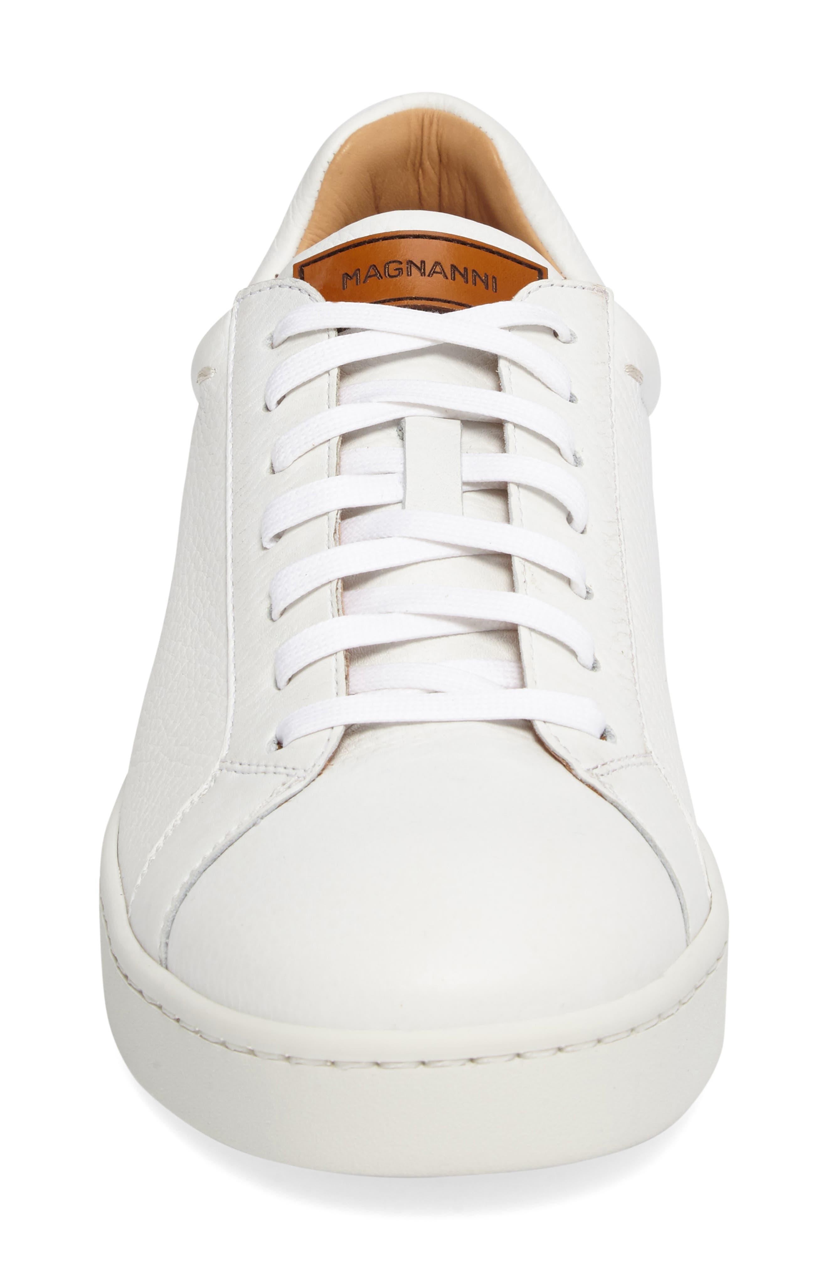 Caballero Sneaker,                             Alternate thumbnail 4, color,                             White Leather