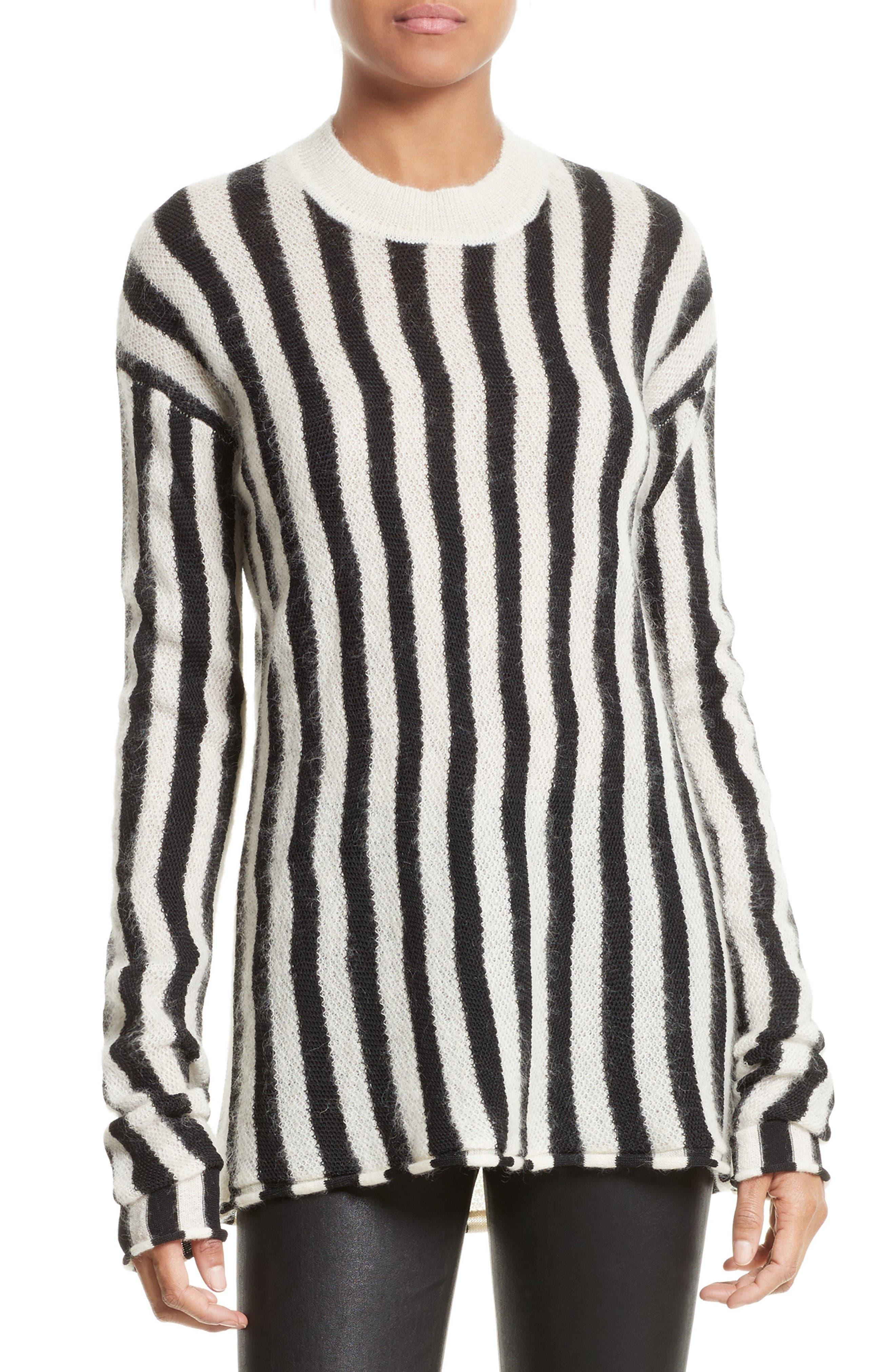 Helmut Lang Technical Stripe Pullover