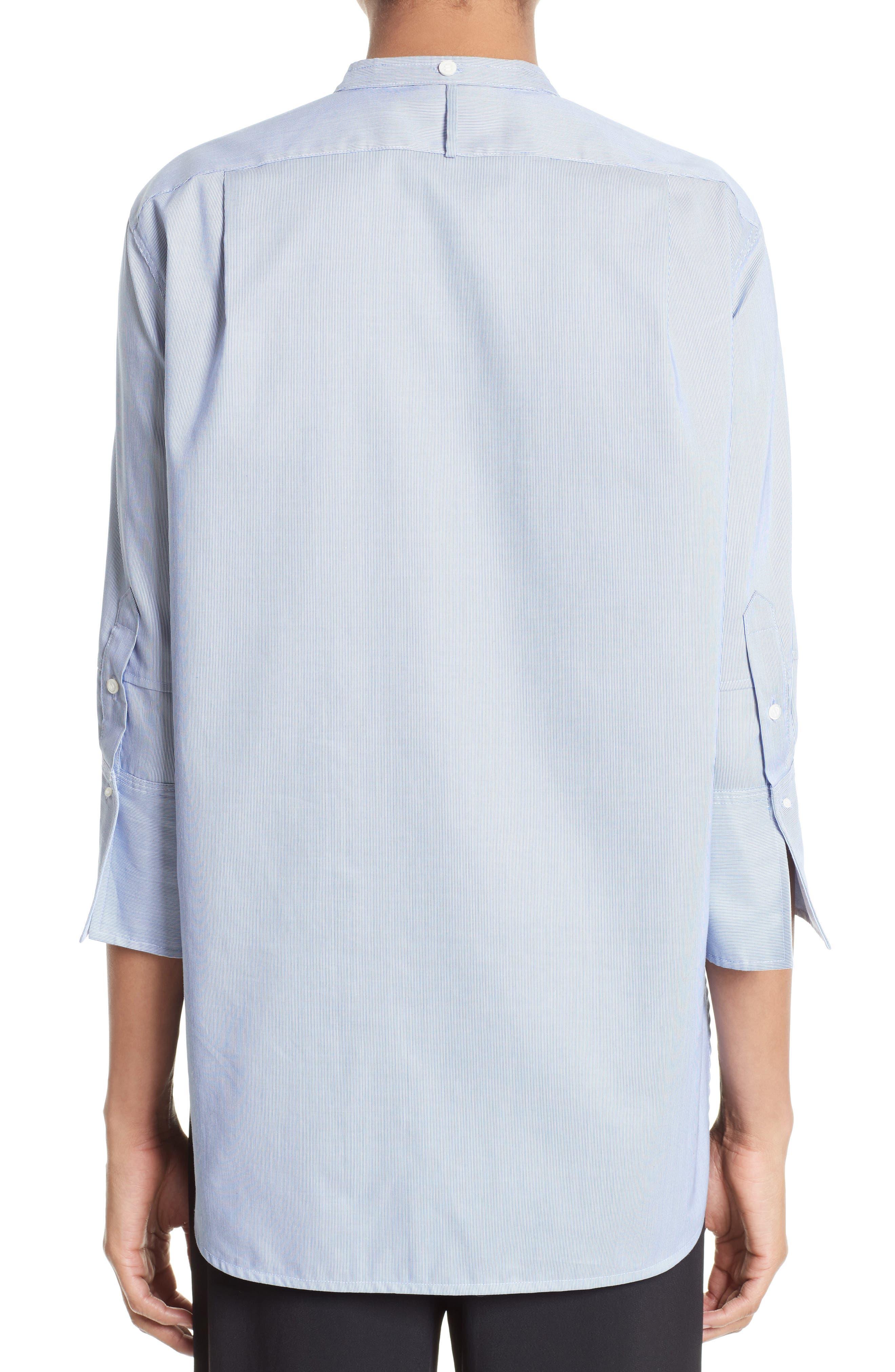 Alternate Image 2  - Helmut Lang Ottoman Tuxedo Shirt