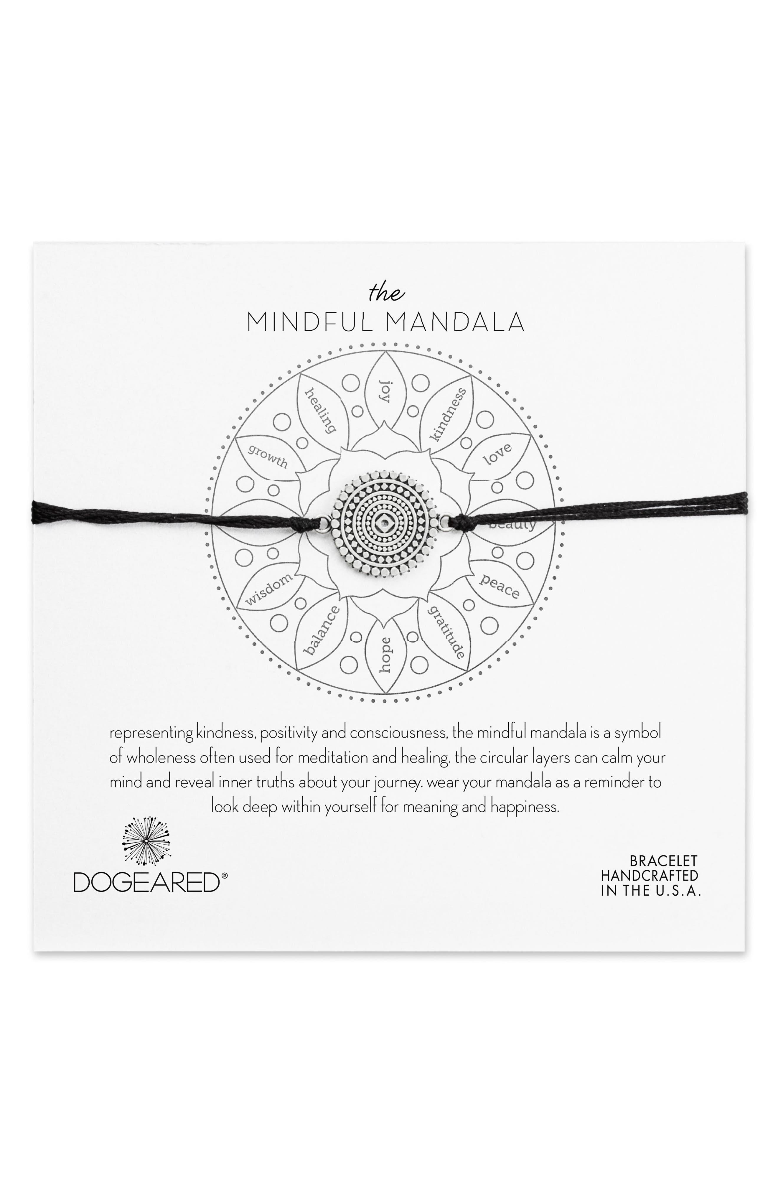Alternate Image 1 Selected - Dogeared The Mindful Mandala Bracelet