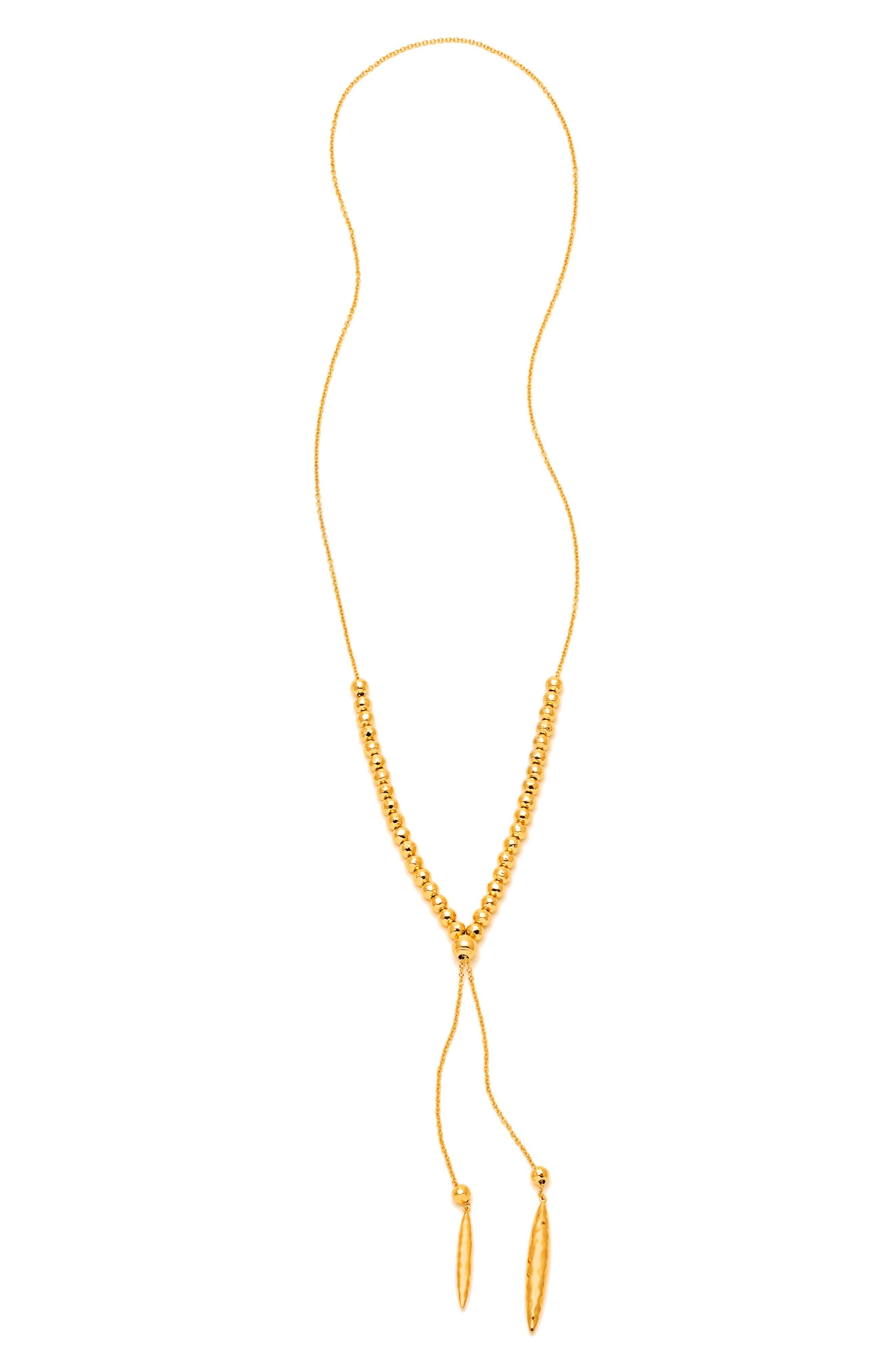 gorjana Laguna Large Adjustable Lariat Necklace