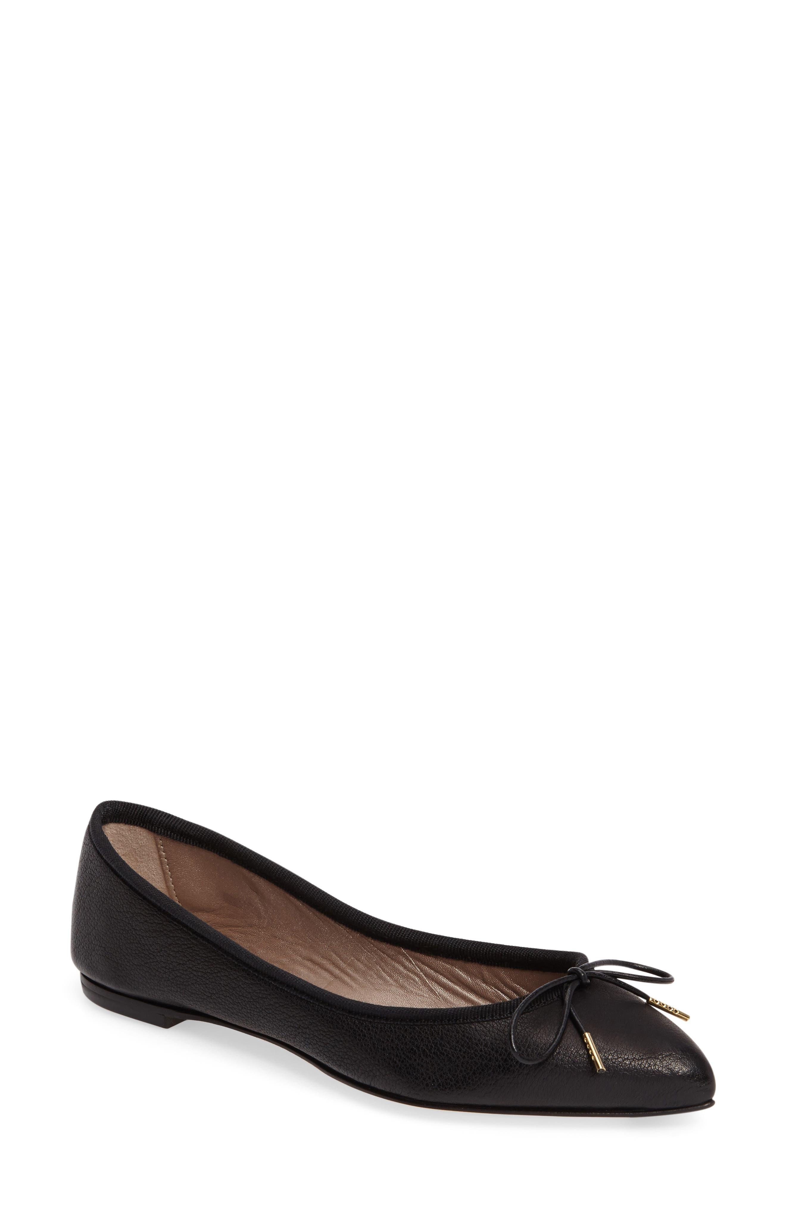 Main Image - AGL Sacchetto Pointy Toe Flat (Women)