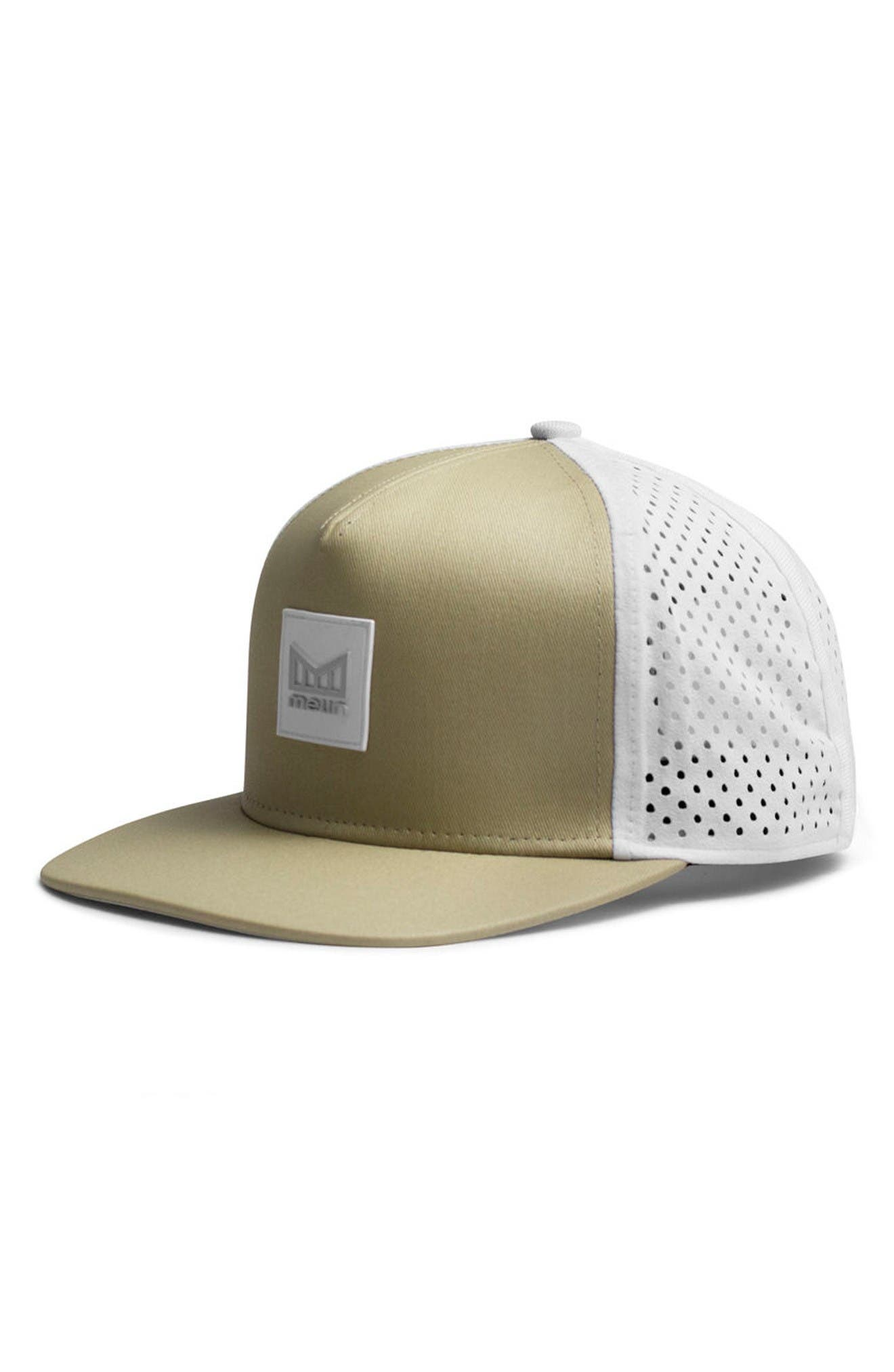 'The Nomad' Split Fit Snapback Baseball Cap,                             Main thumbnail 1, color,                             Sand