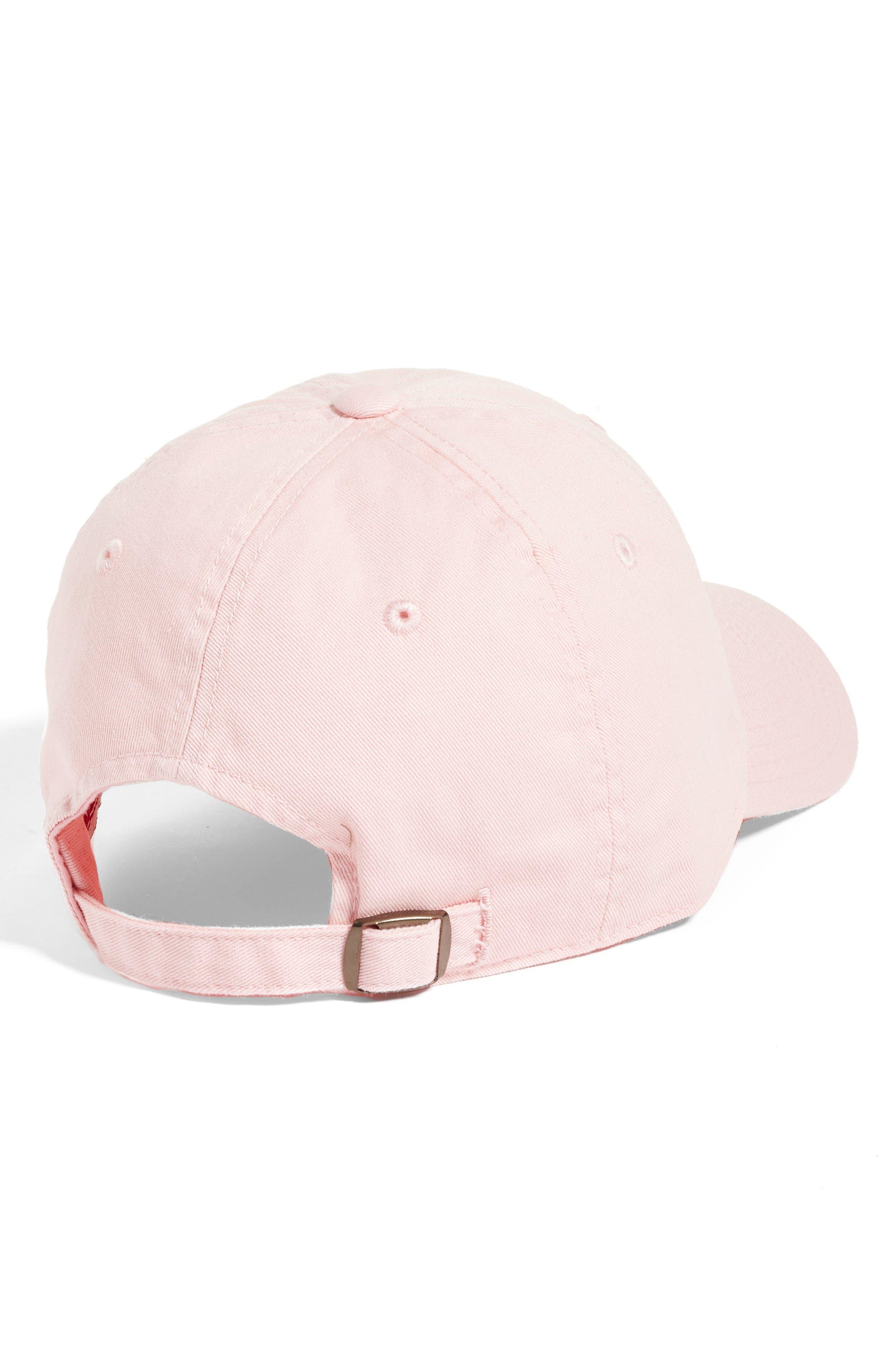 Cali Baseball Cap,                             Alternate thumbnail 3, color,                             Club Pink