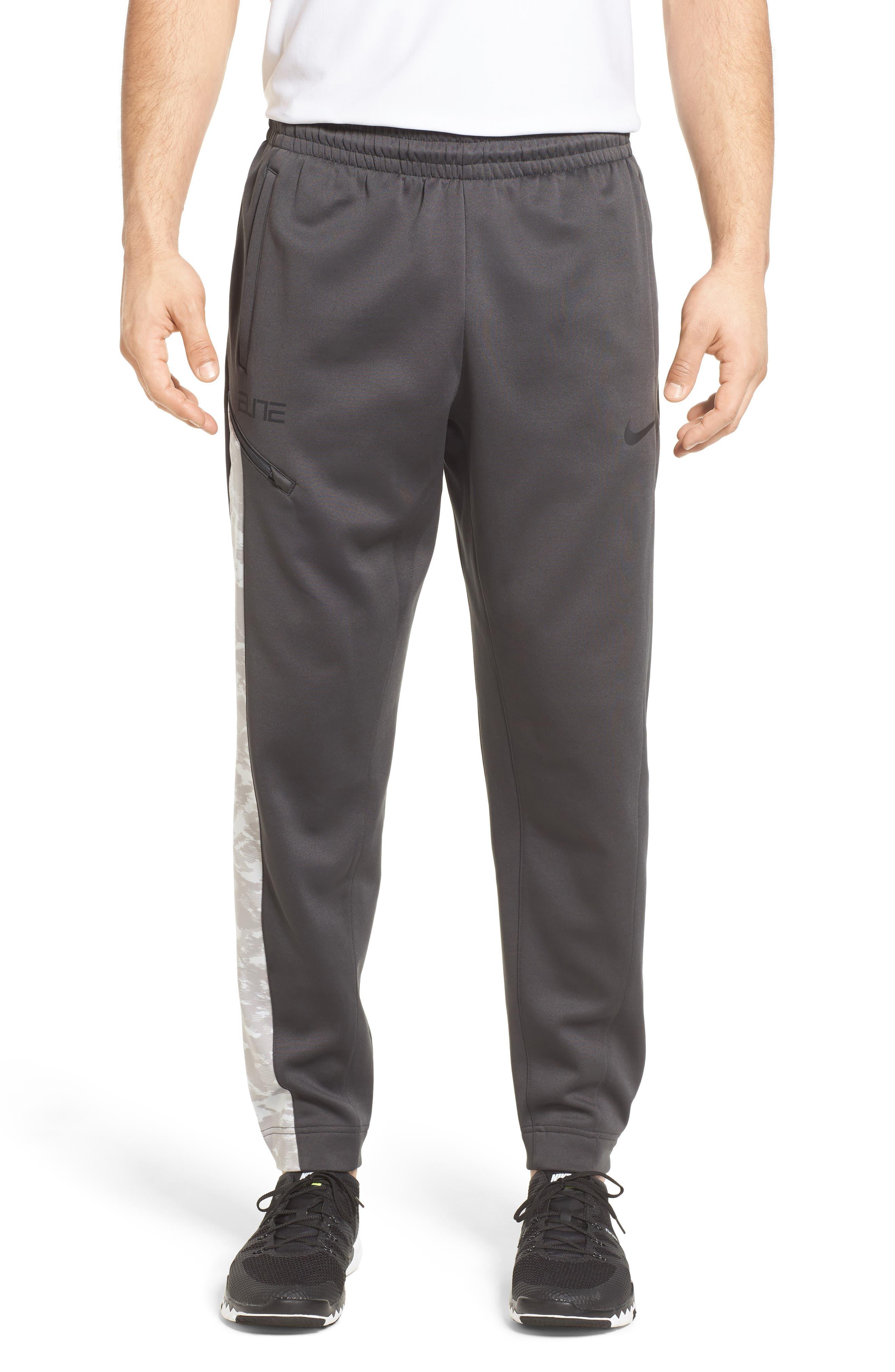 Alternate Image 1 Selected - Nike Therma Elite Basketball Pants