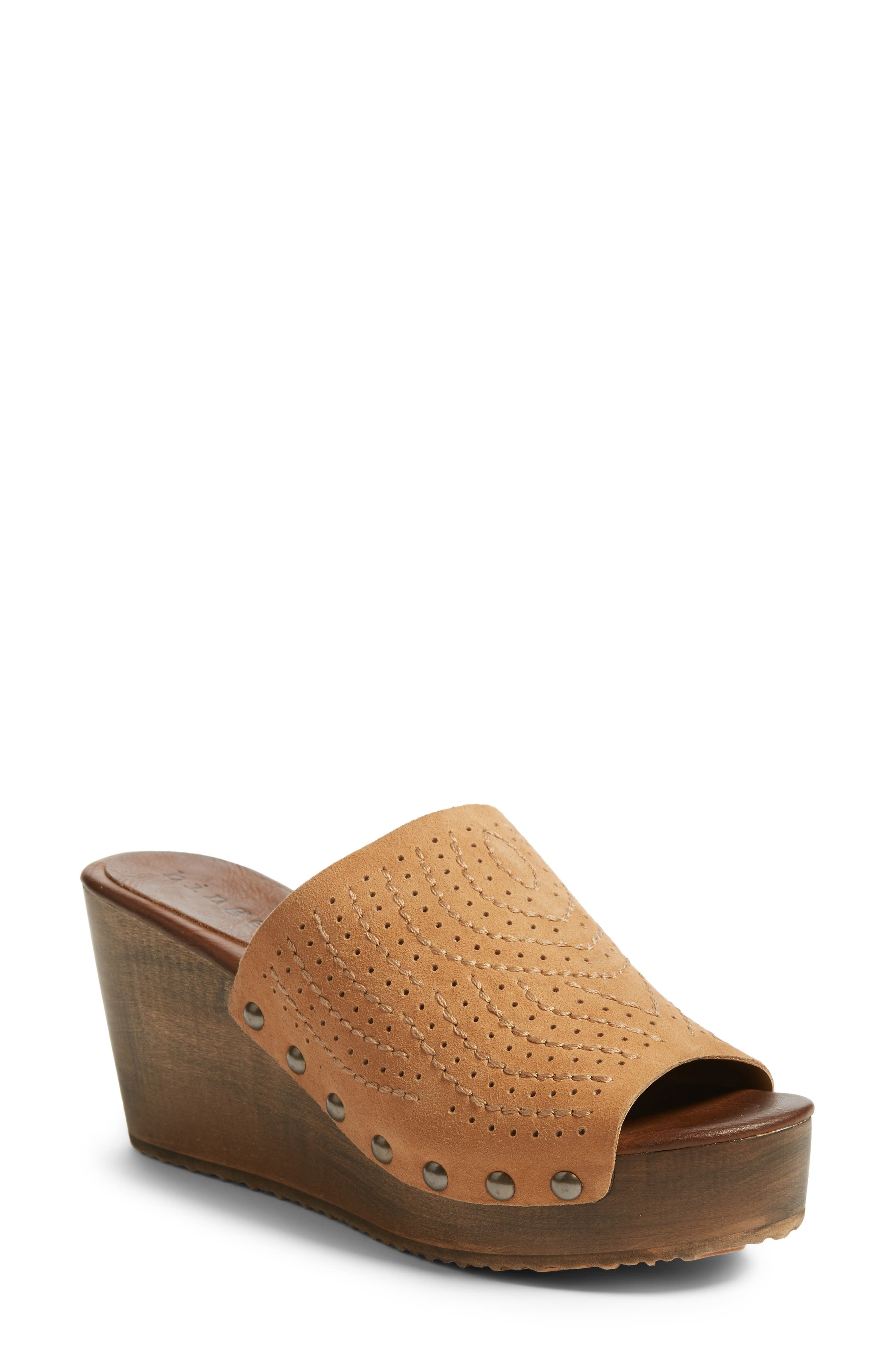 Hinge Agitha Platform Wedge Sandal (Women)