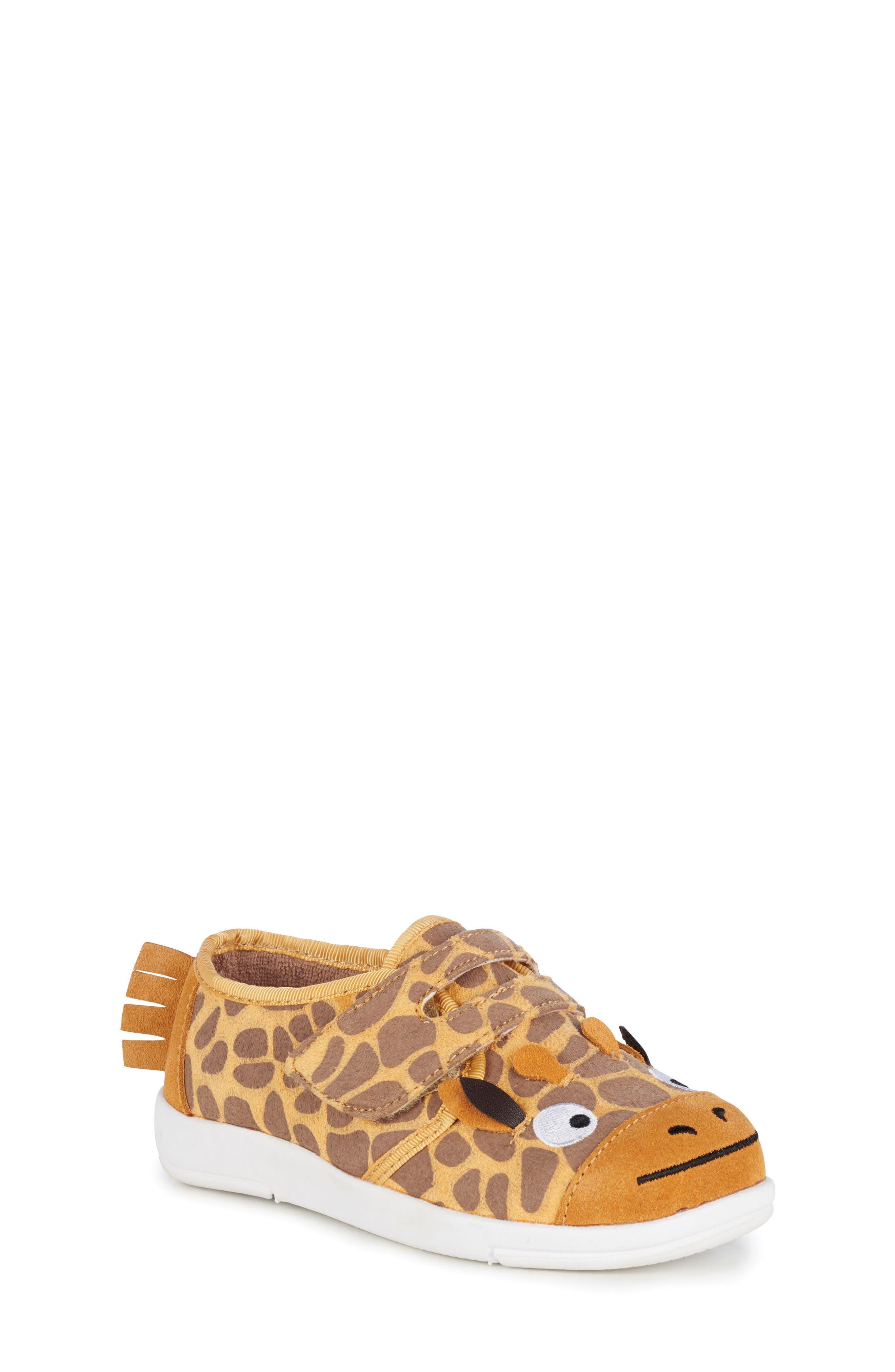 Giraffe Sneaker,                             Main thumbnail 1, color,                             Yellow