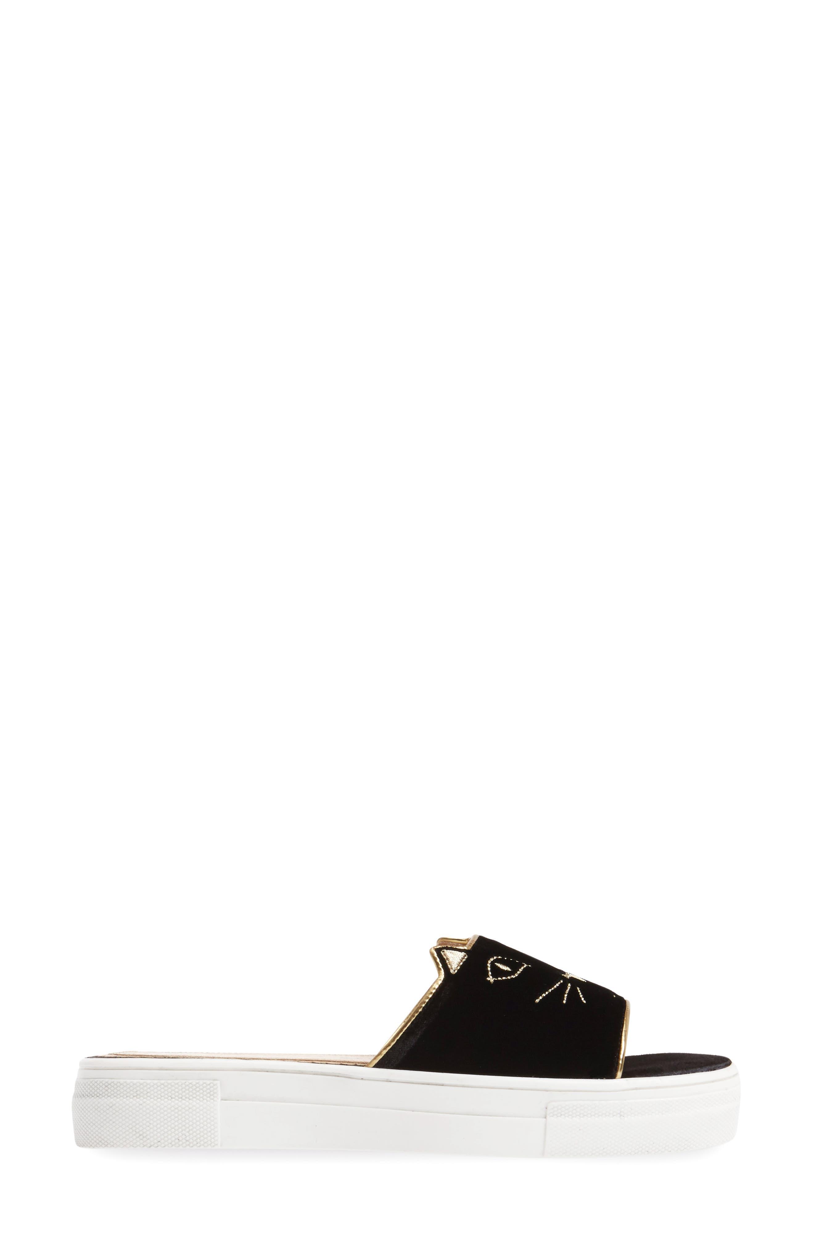 Alternate Image 3  - Charlotte Olympia Kitty Slide Sandal (Women)