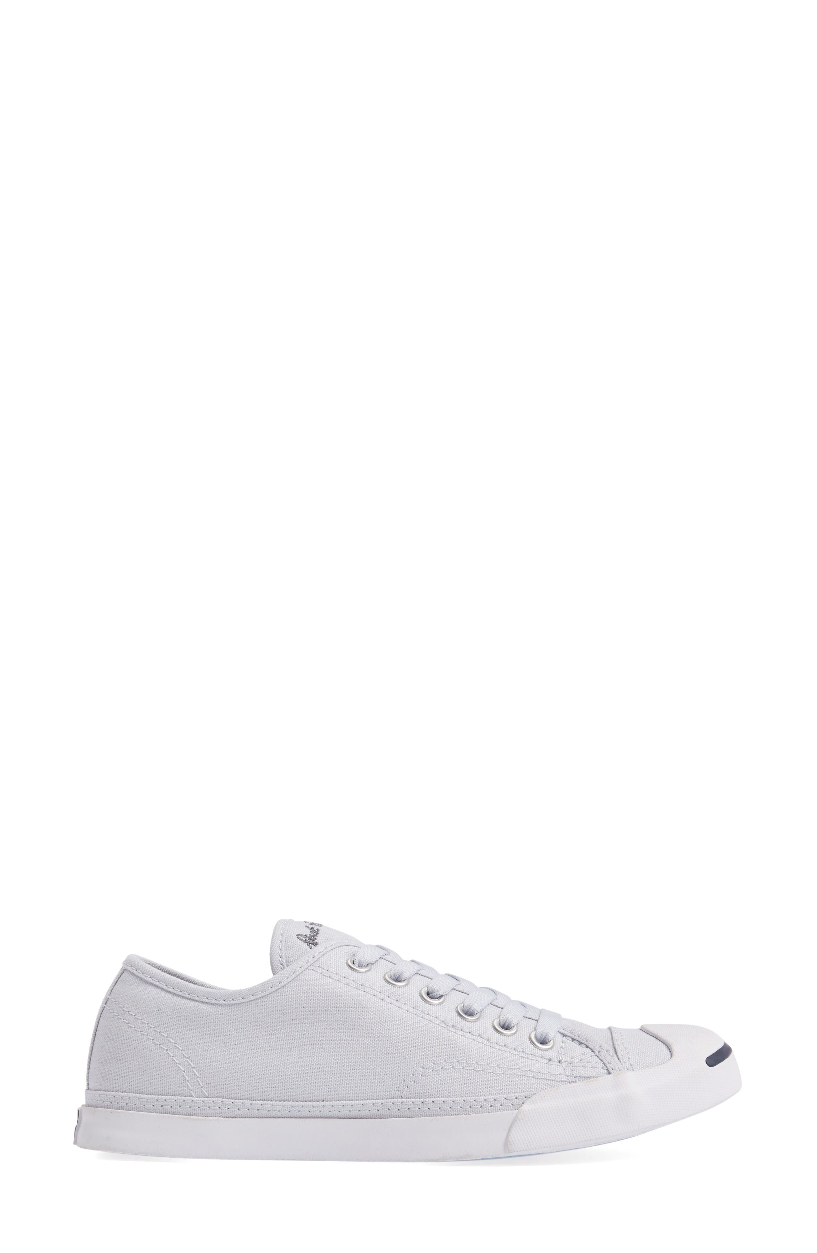 Jack Purcell Signature Ox Low Top Sneaker,                             Alternate thumbnail 3, color,                             Platinum
