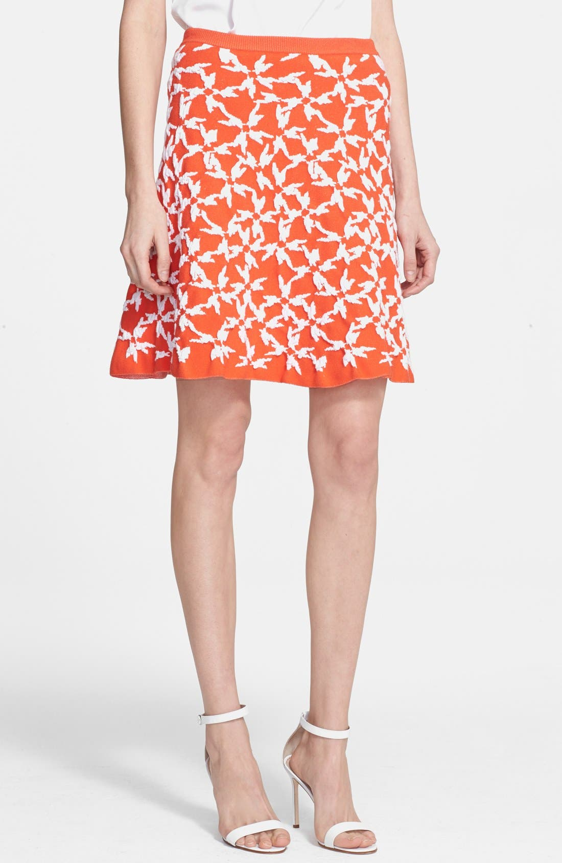 Alternate Image 1 Selected - Tanya Taylor 'Maia' Jacquard Knit Skirt