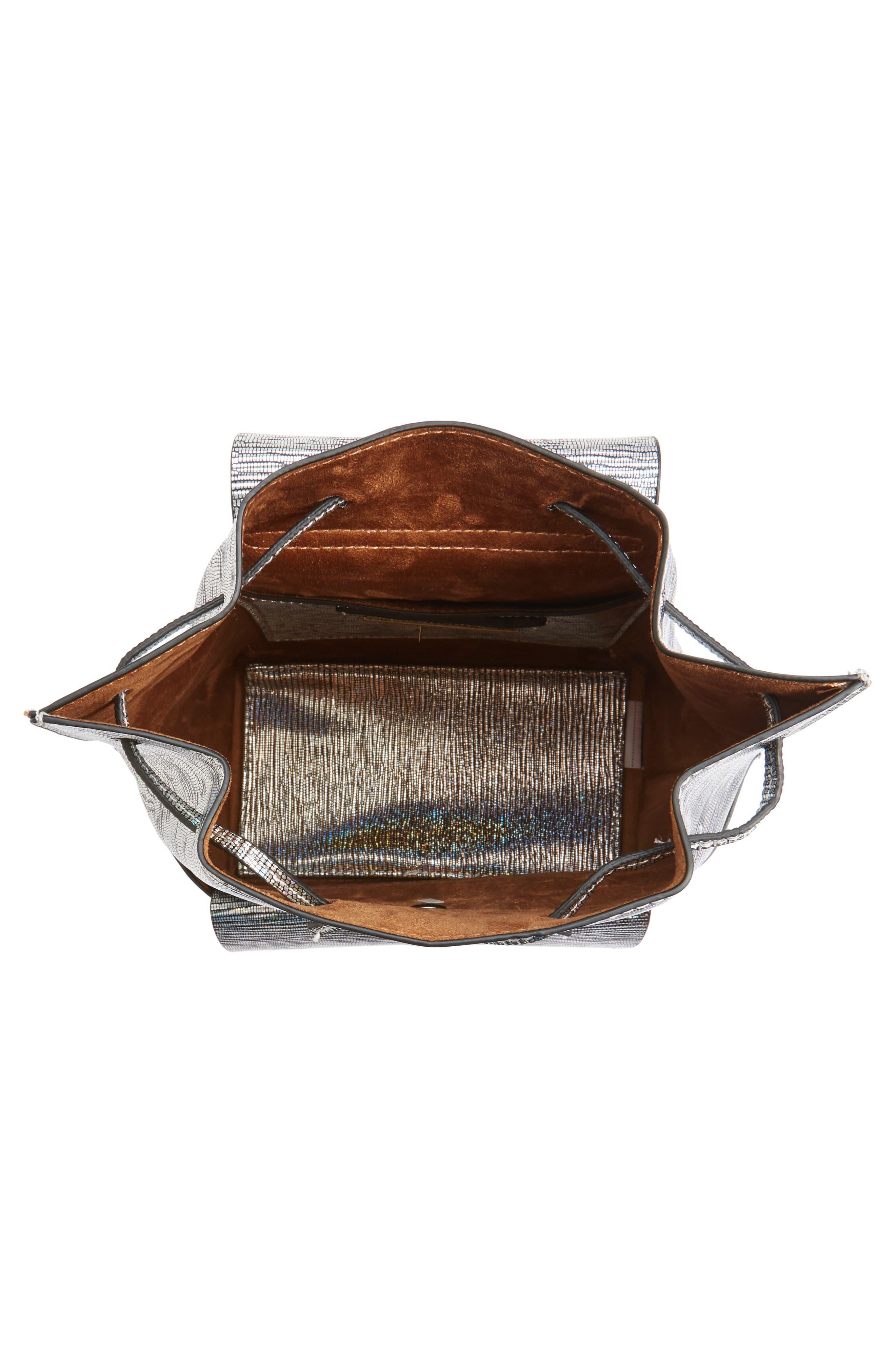 Alternate Image 4  - Street Level Flap Pocket Backpack