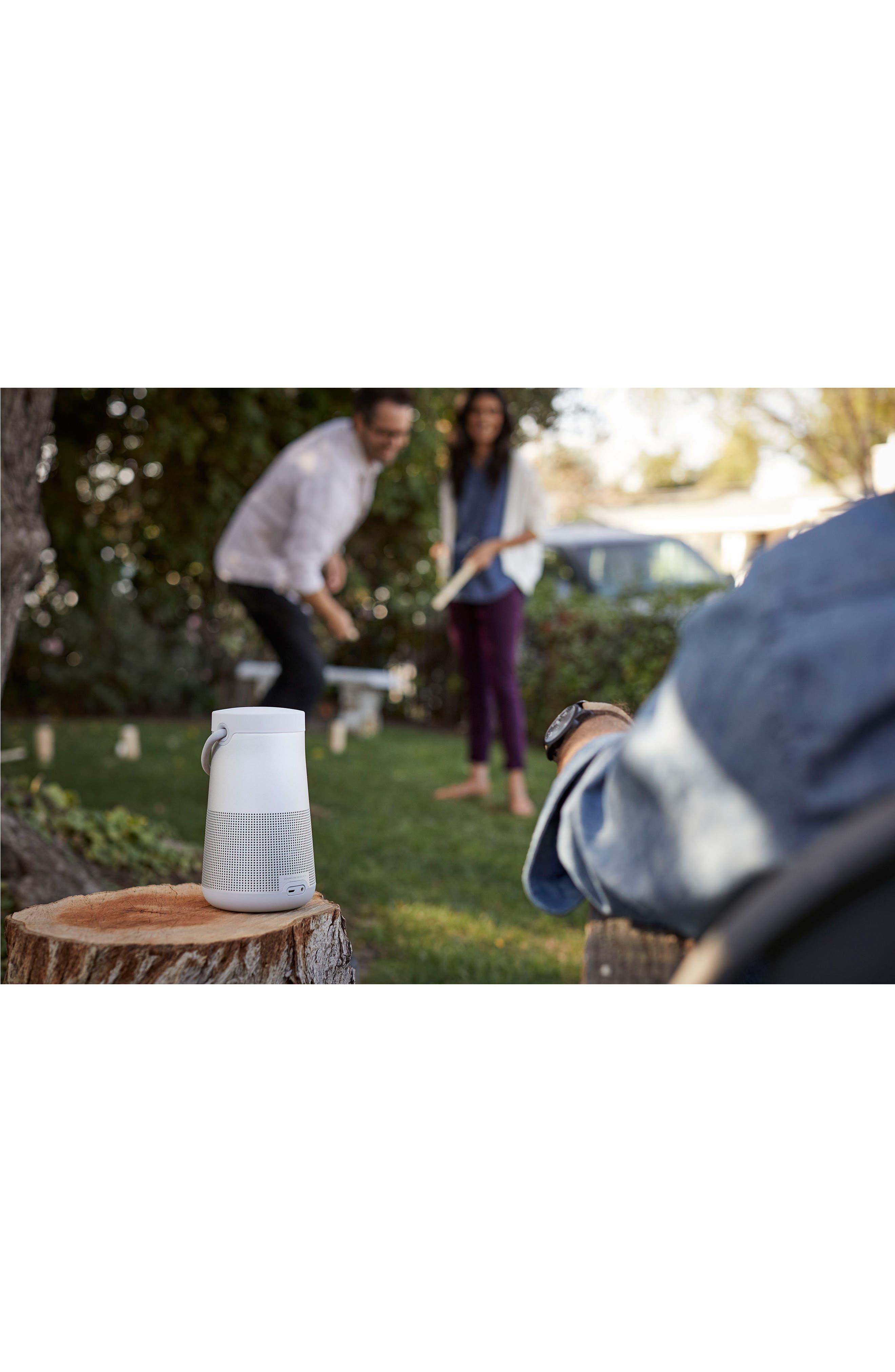 SoundLink<sup>®</sup> Revolve+ Bluetooth<sup>®</sup> Speaker,                             Alternate thumbnail 11, color,                             Silver