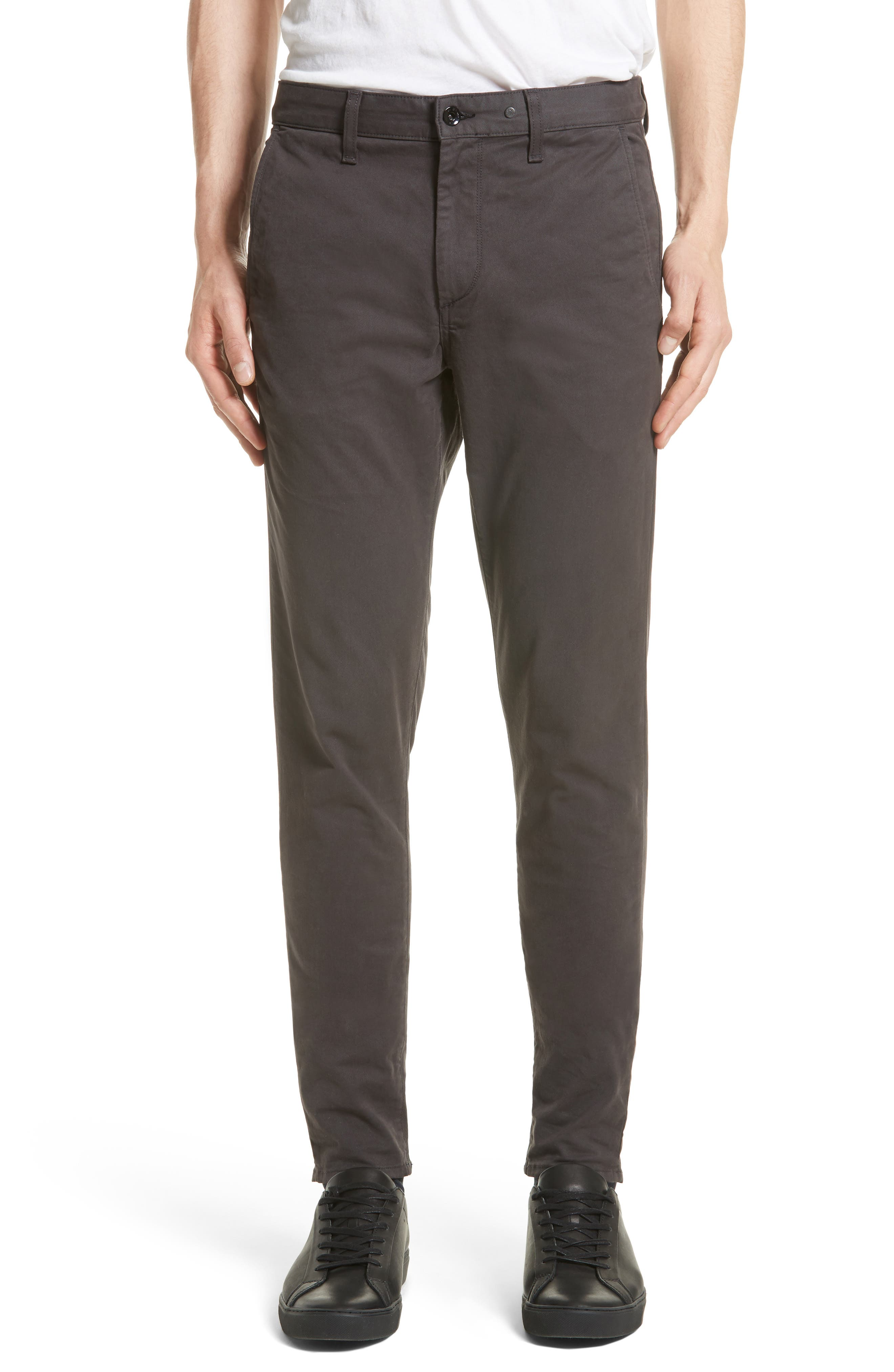 Fit 1 Chinos,                         Main,                         color, Grey