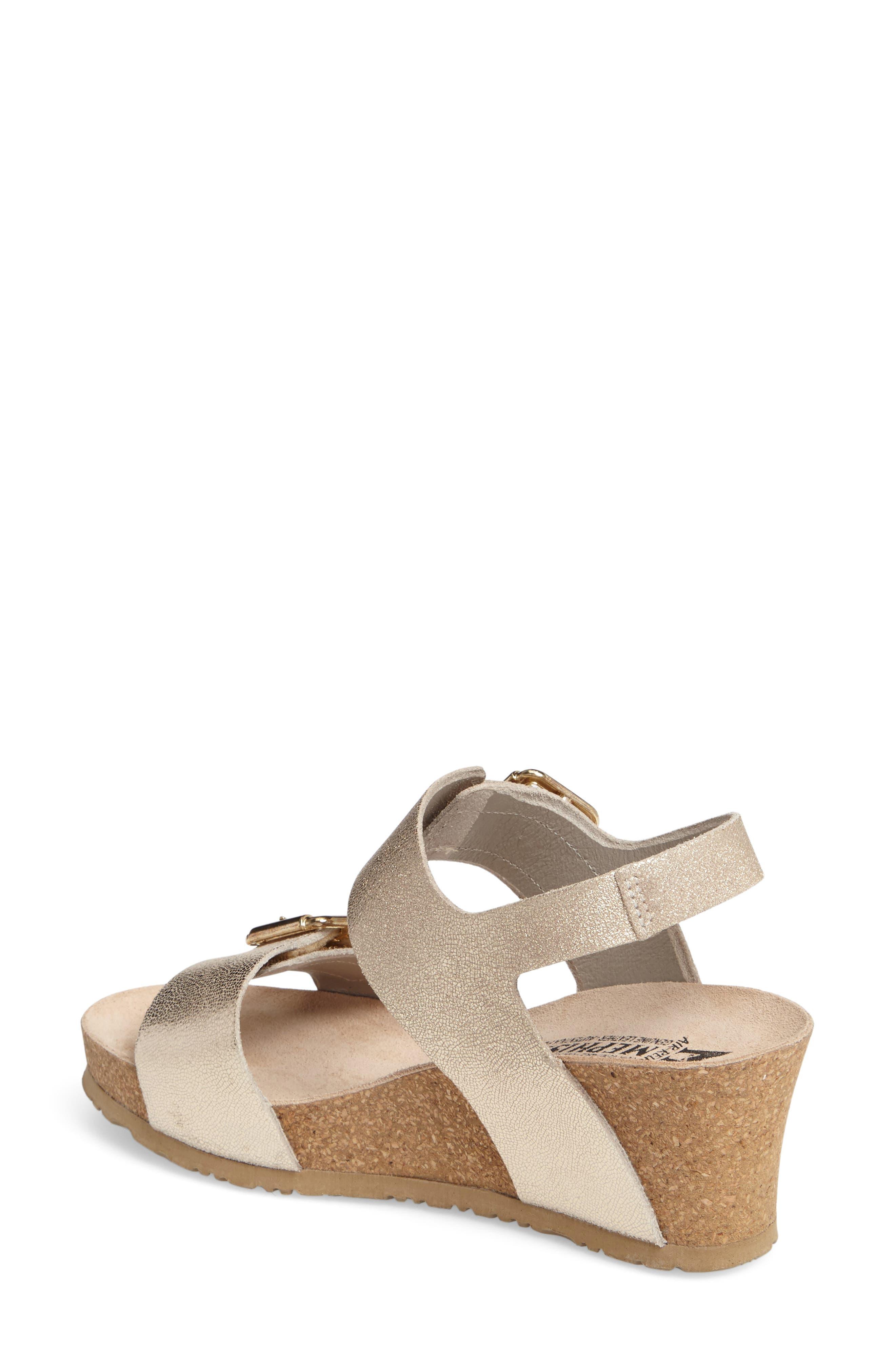 Alternate Image 2  - Mephisto Lissandra Platform Wedge Sandal (Women)