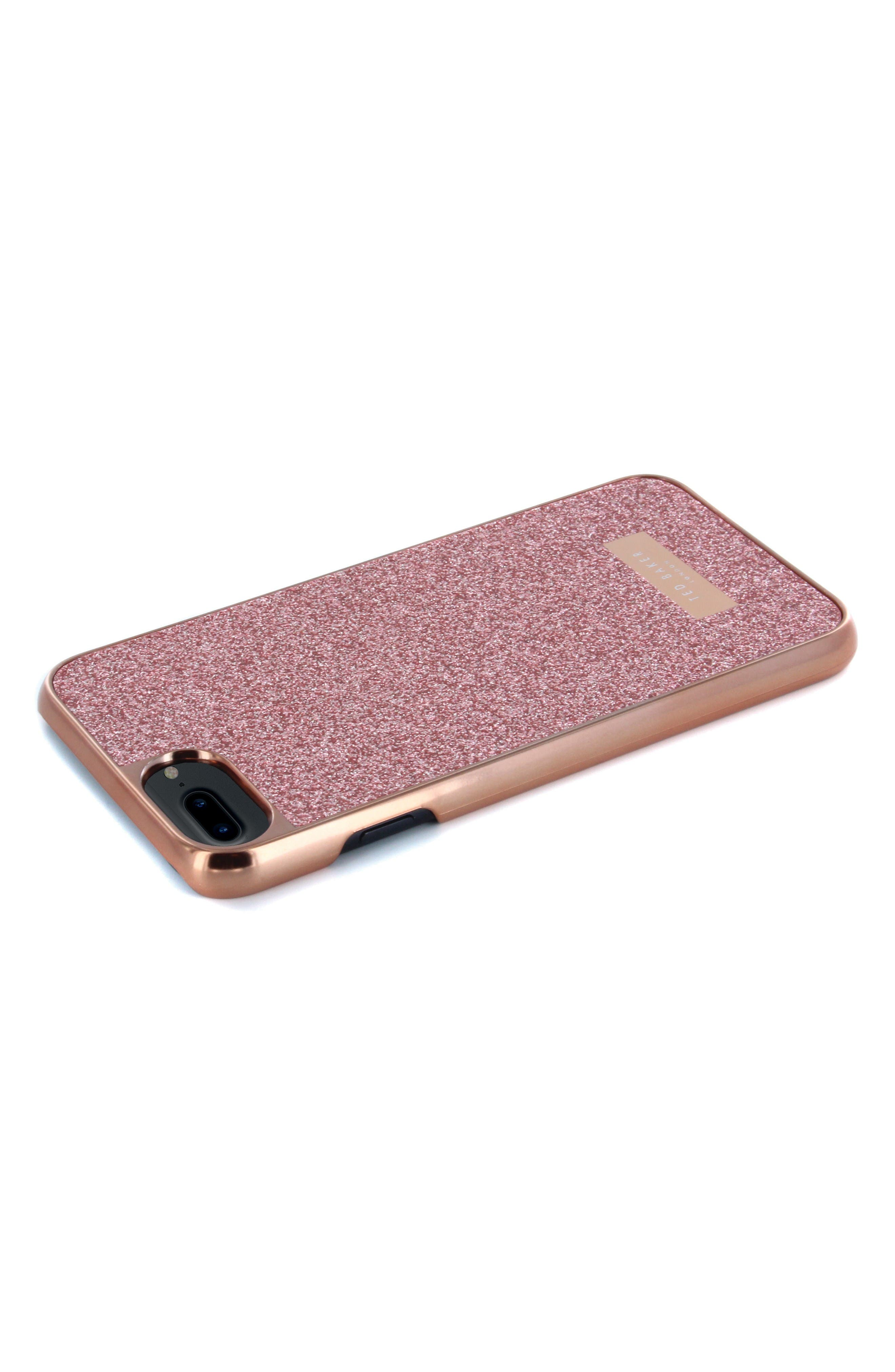 Rico iPhone 6/6s/7/8 Plus Case,                             Alternate thumbnail 4, color,                             Rose Gold