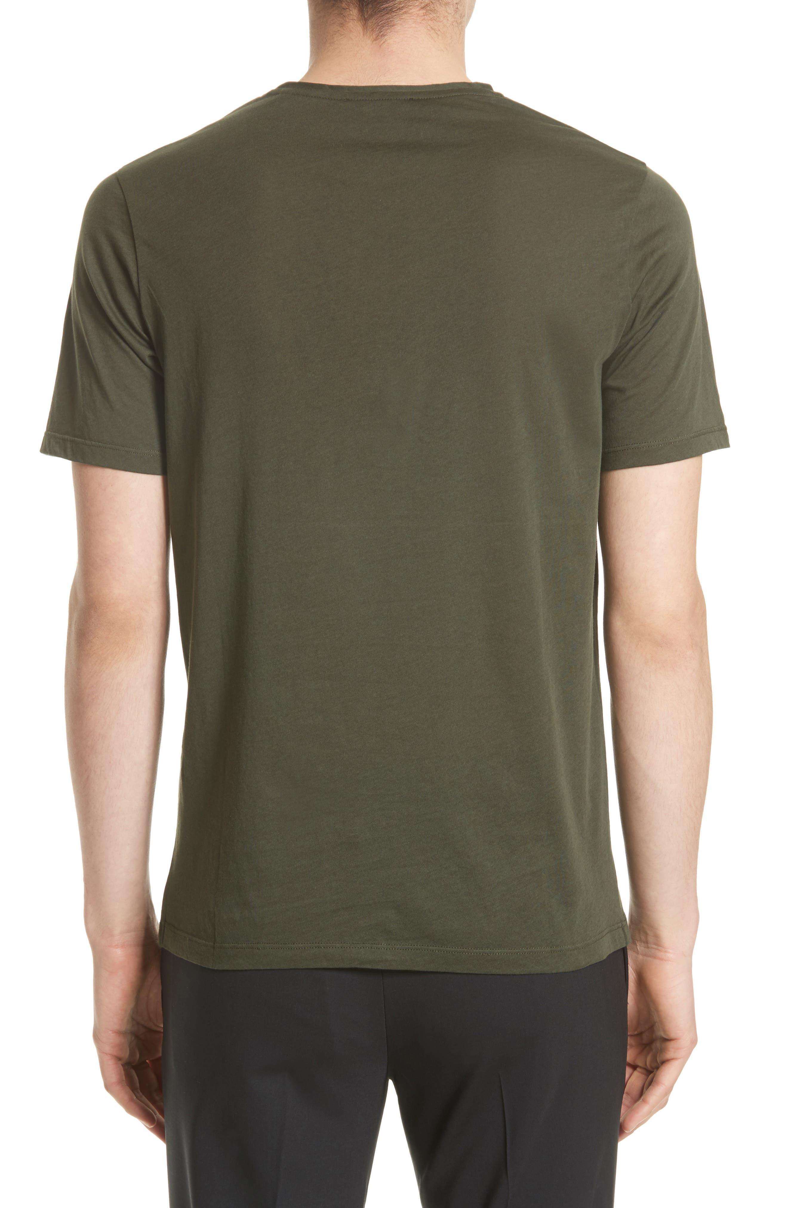 Alternate Image 2  - The Kooples Leather Pocket T-Shirt