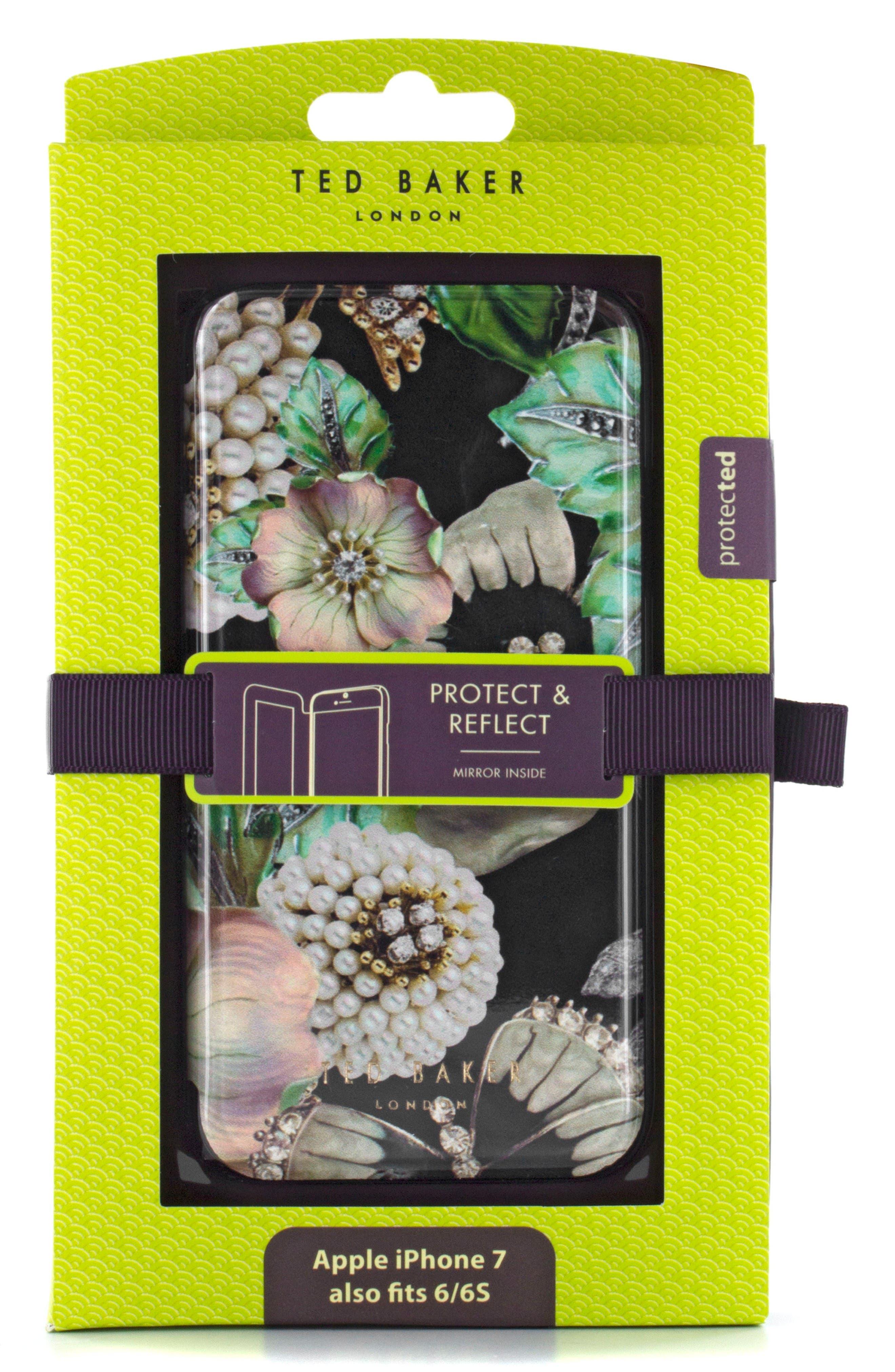 Clarna iPhone 6/6s/7/8 & 6/6s/7/8 Plus Mirror Folio Case,                             Alternate thumbnail 5, color,                             Multi