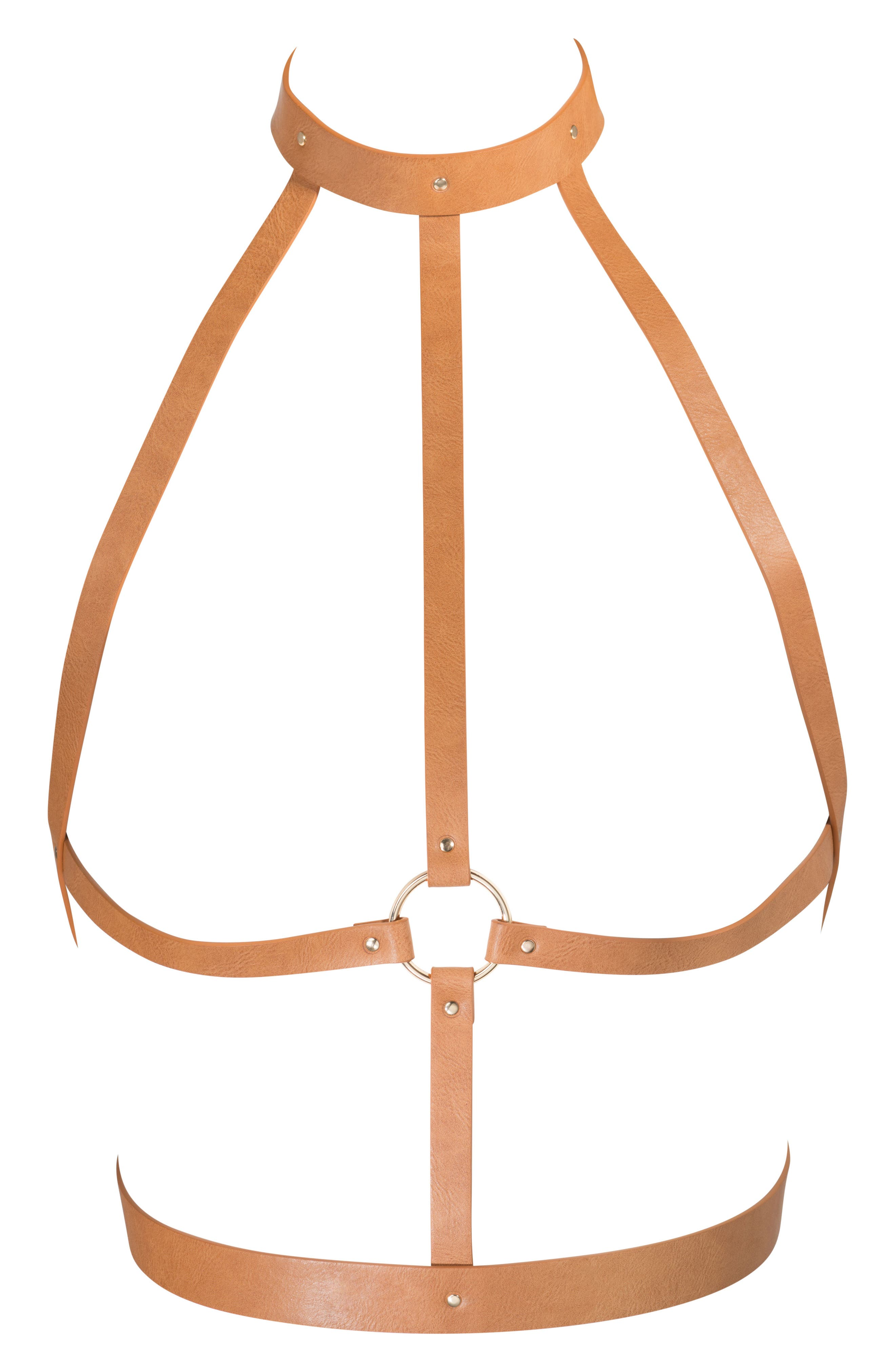 Maze-H Harness,                         Main,                         color, Brown