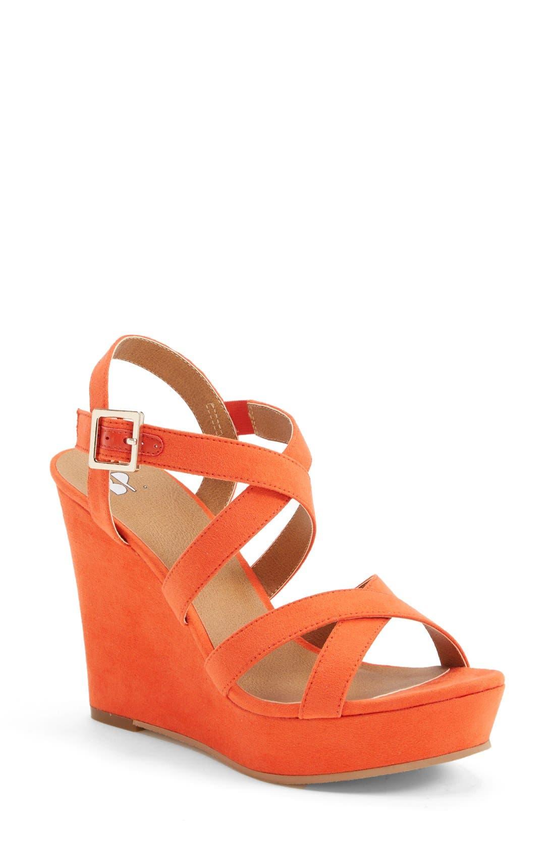 Main Image - BP. 'Summers' Wedge Sandal (Women)