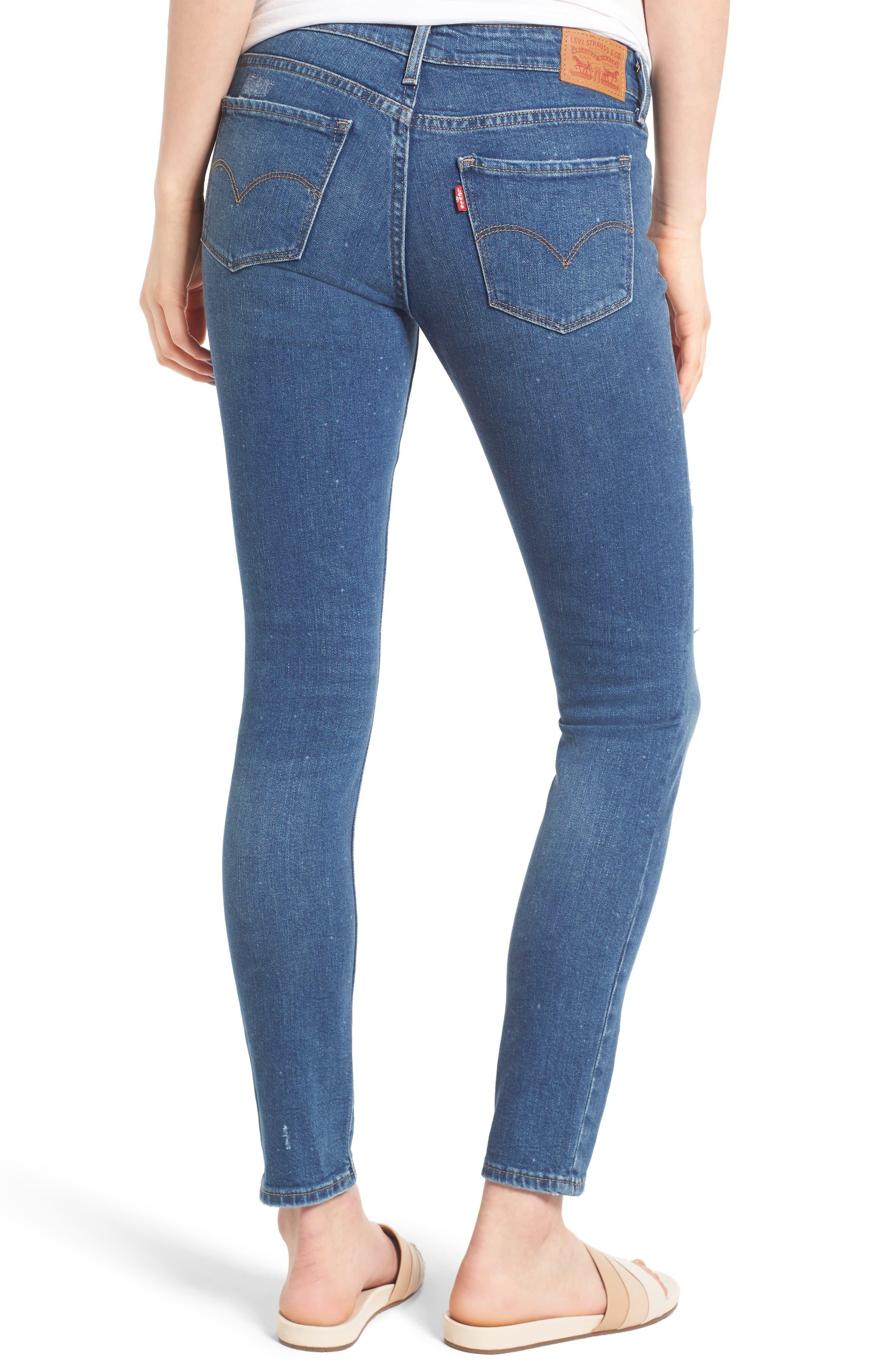 Alternate Image 2  - Levi's® 711 Skinny Jeans