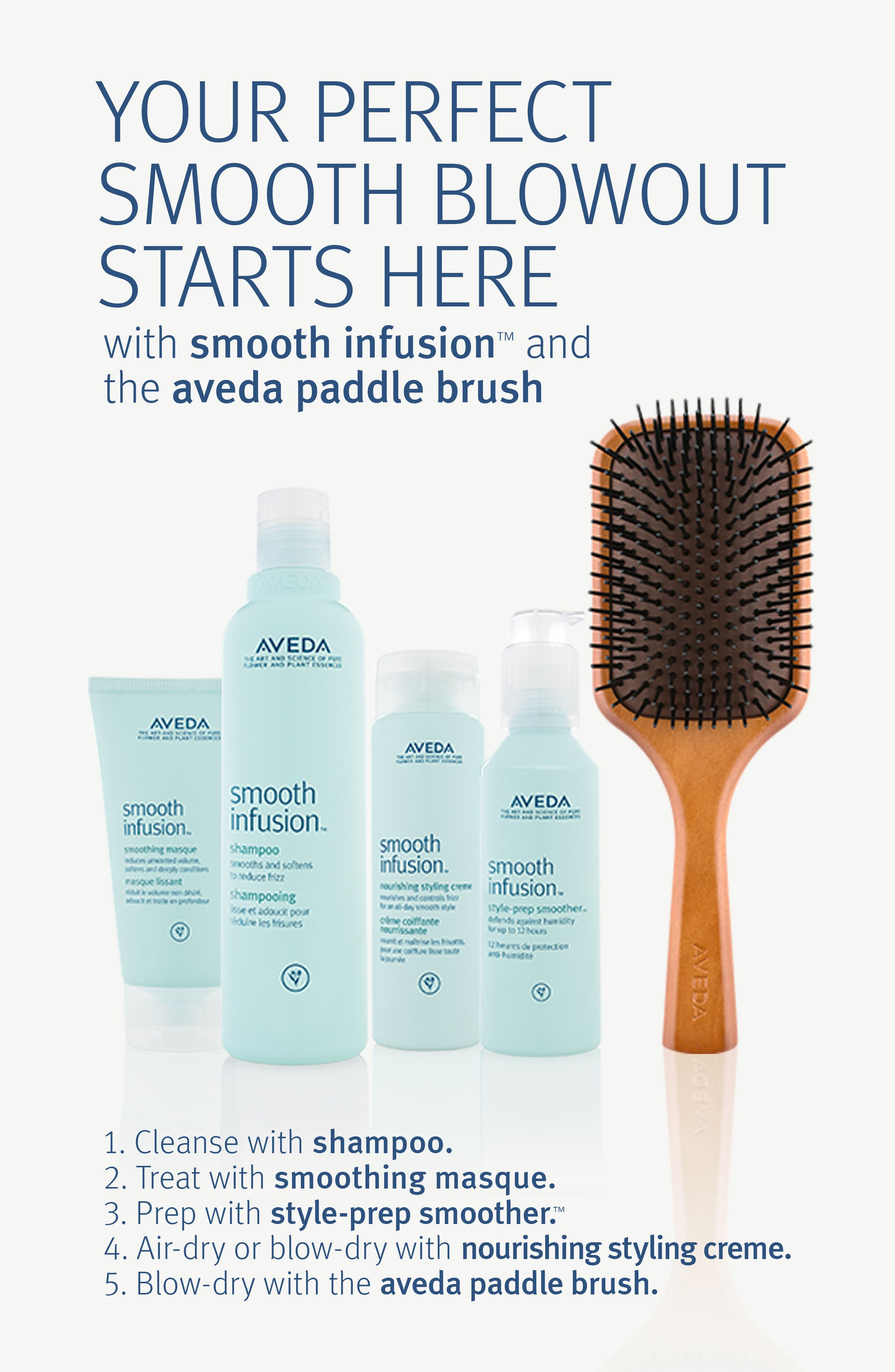 Alternate Image 3  - Aveda 'smooth infusion™' style-prep smoother™