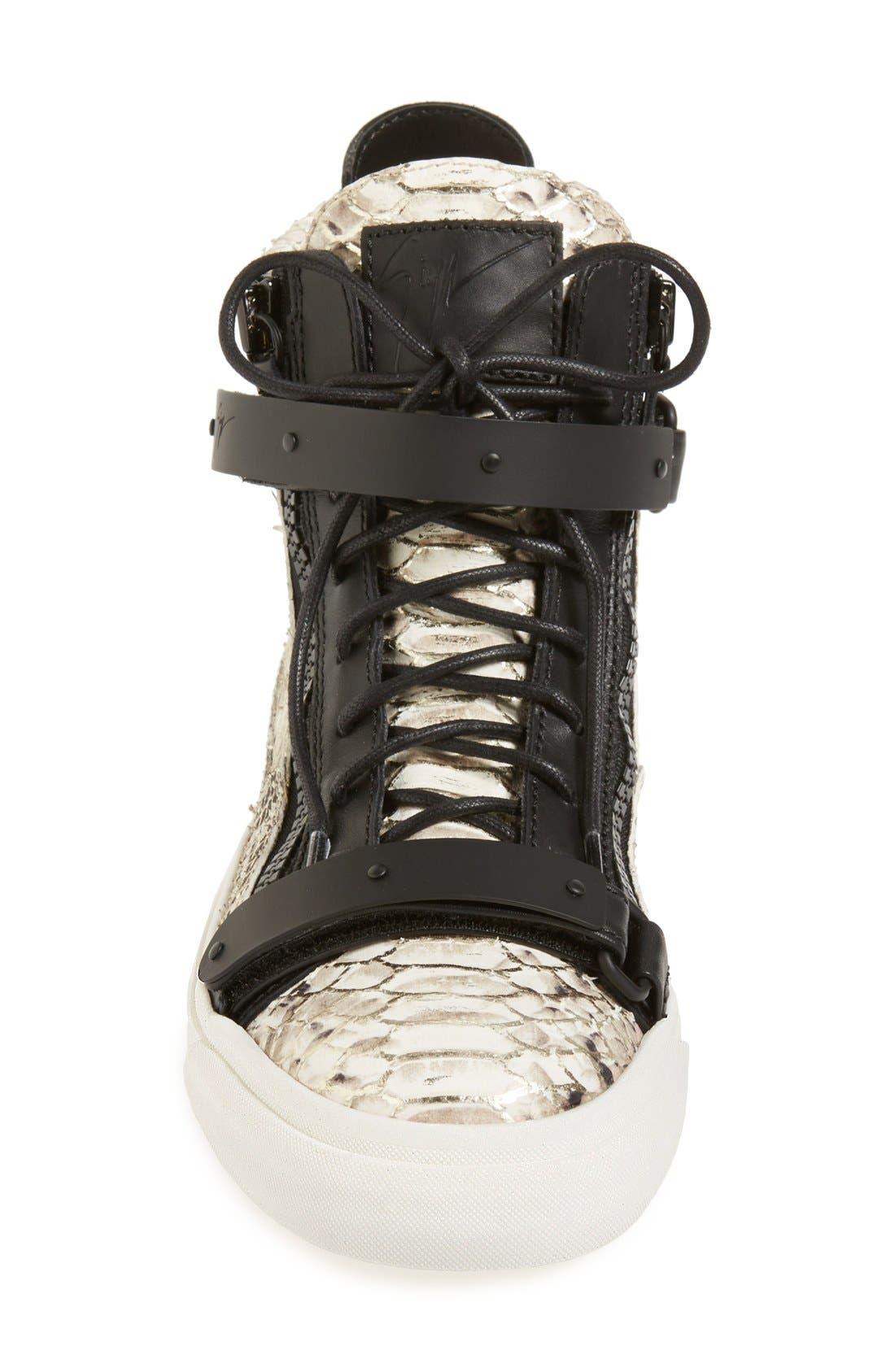 Alternate Image 3  - Giuseppe Zanotti 'London' High Top Sneaker (Women)