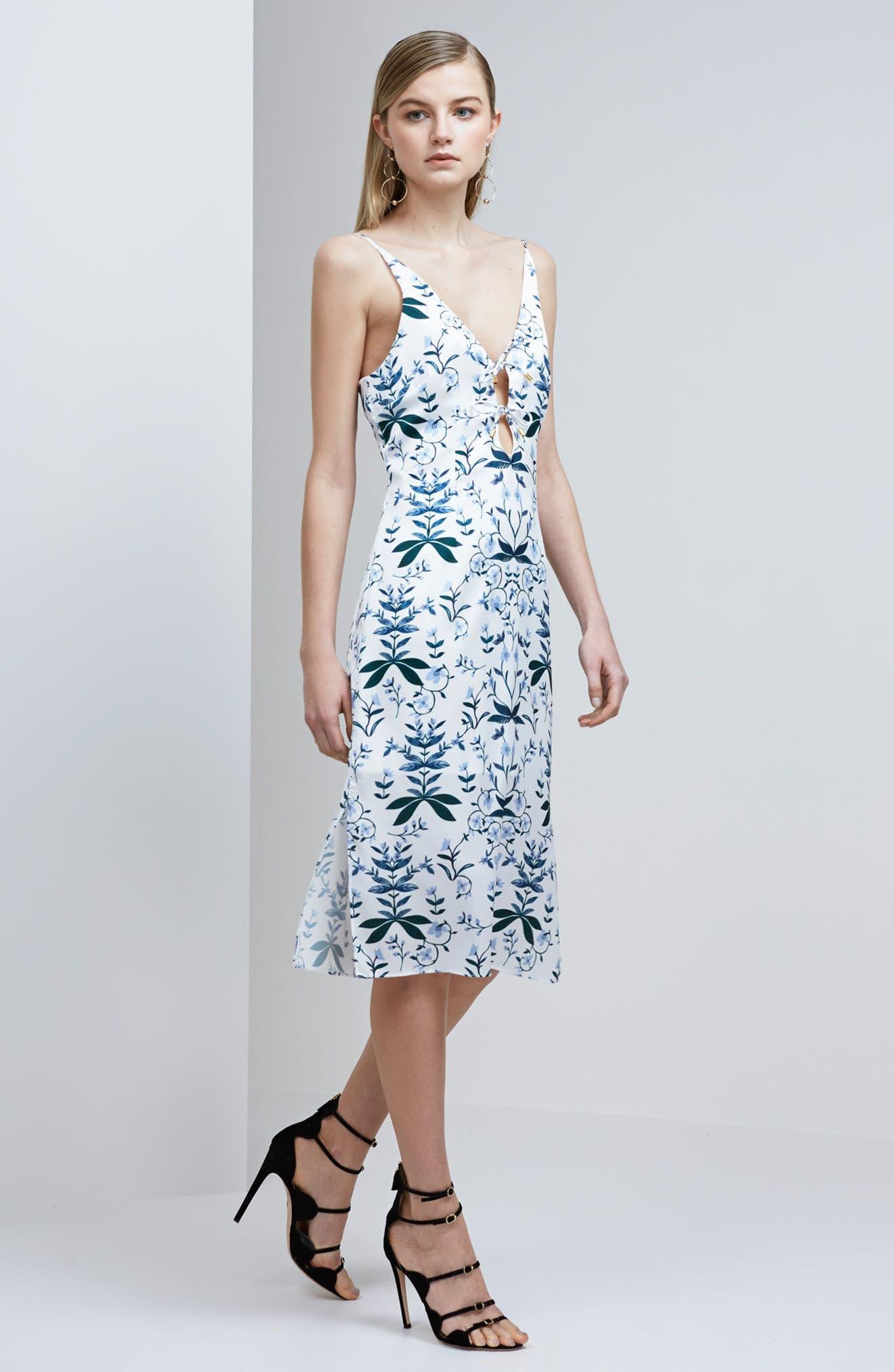 Alternate Image 2  - Keepsake the Label Keeping Score Midi Dress