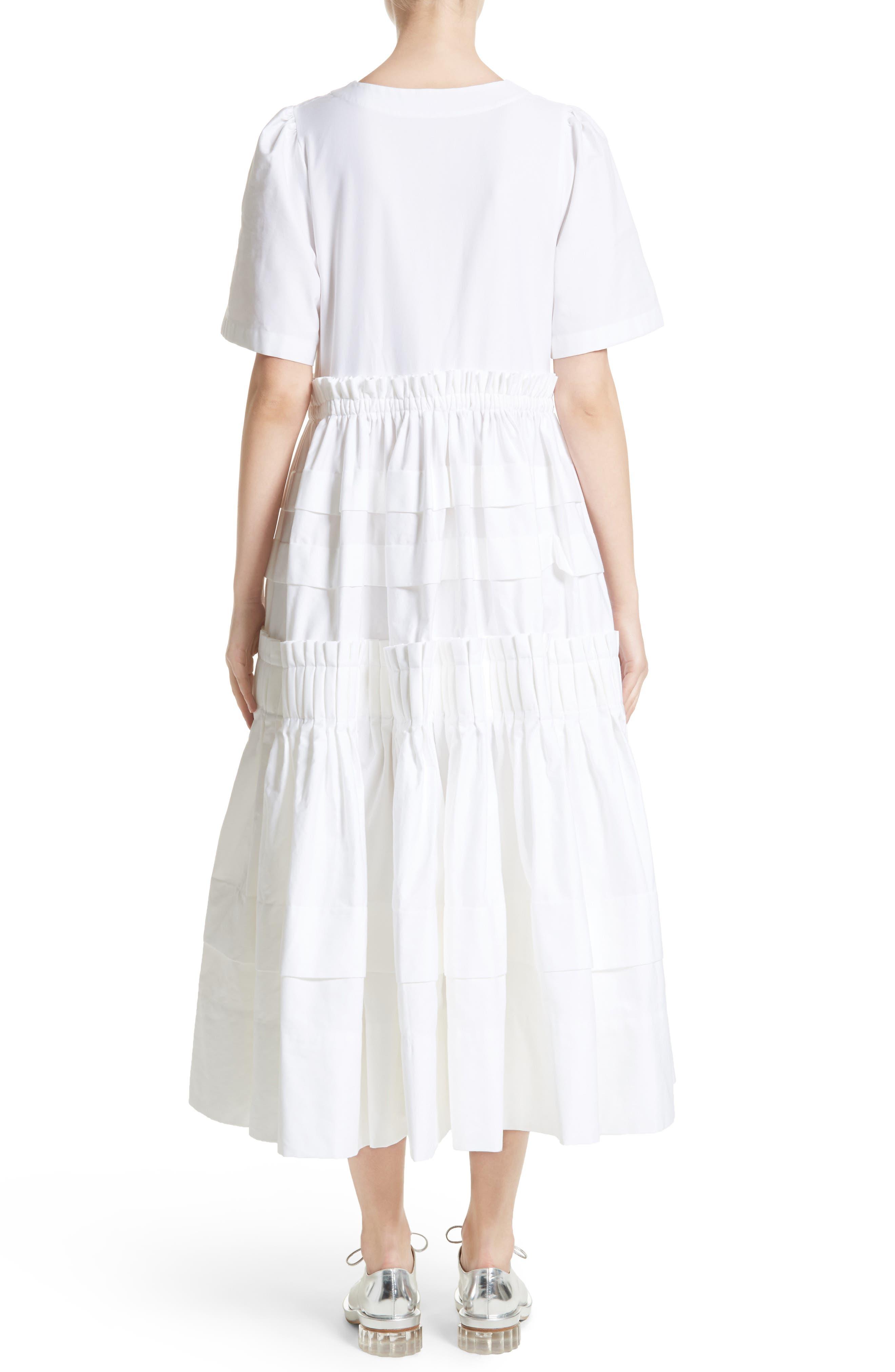 Mathilda Maxi Dress,                             Alternate thumbnail 2, color,                             White