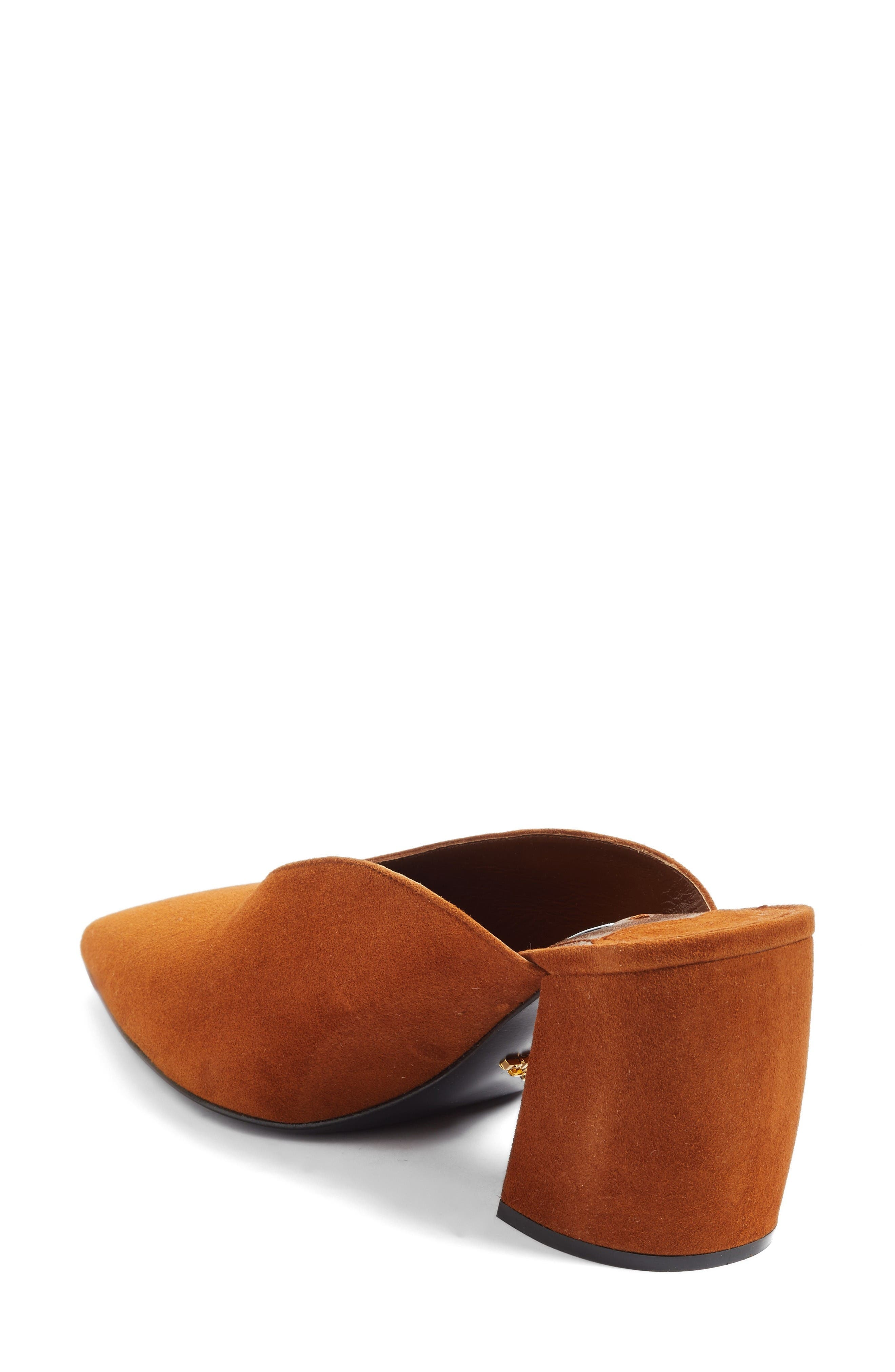 Alternate Image 2  - Prada Slant Heel Mule (Women)