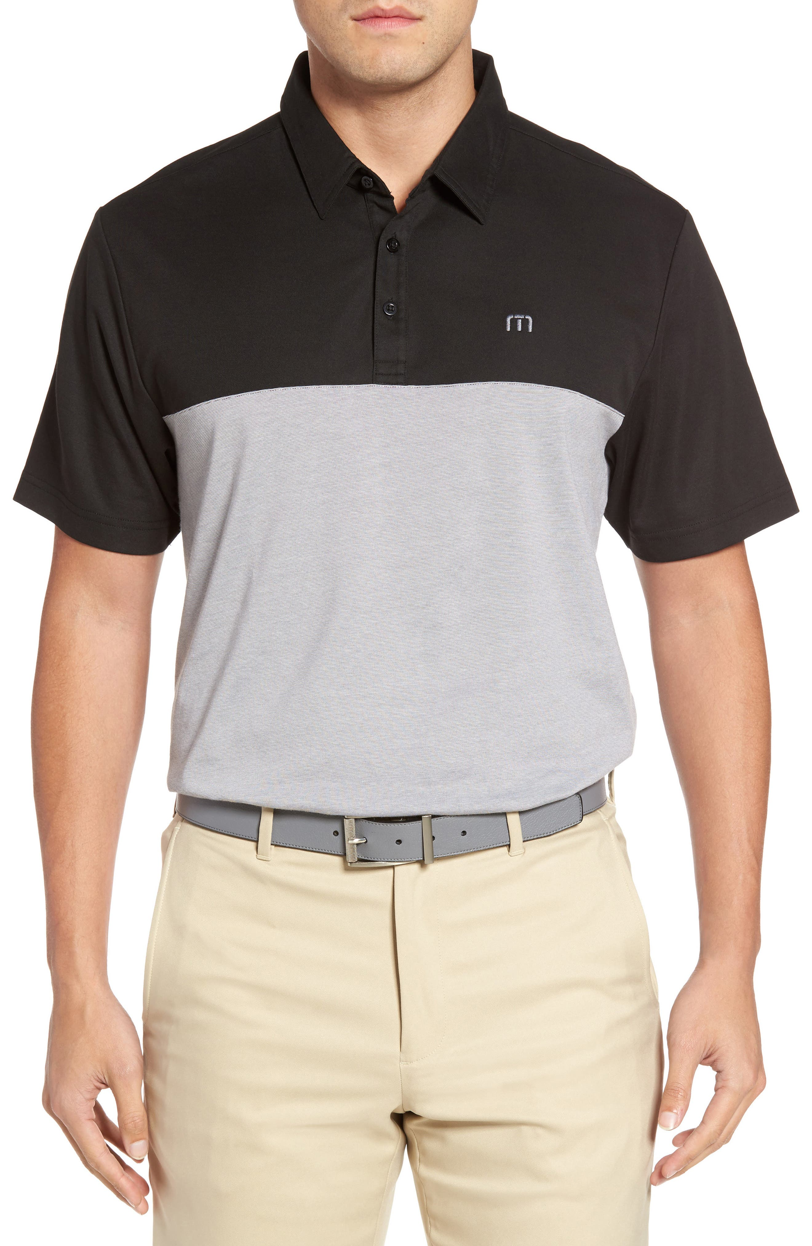 TRAVIS MATHEW Sivanish Piqué Polo