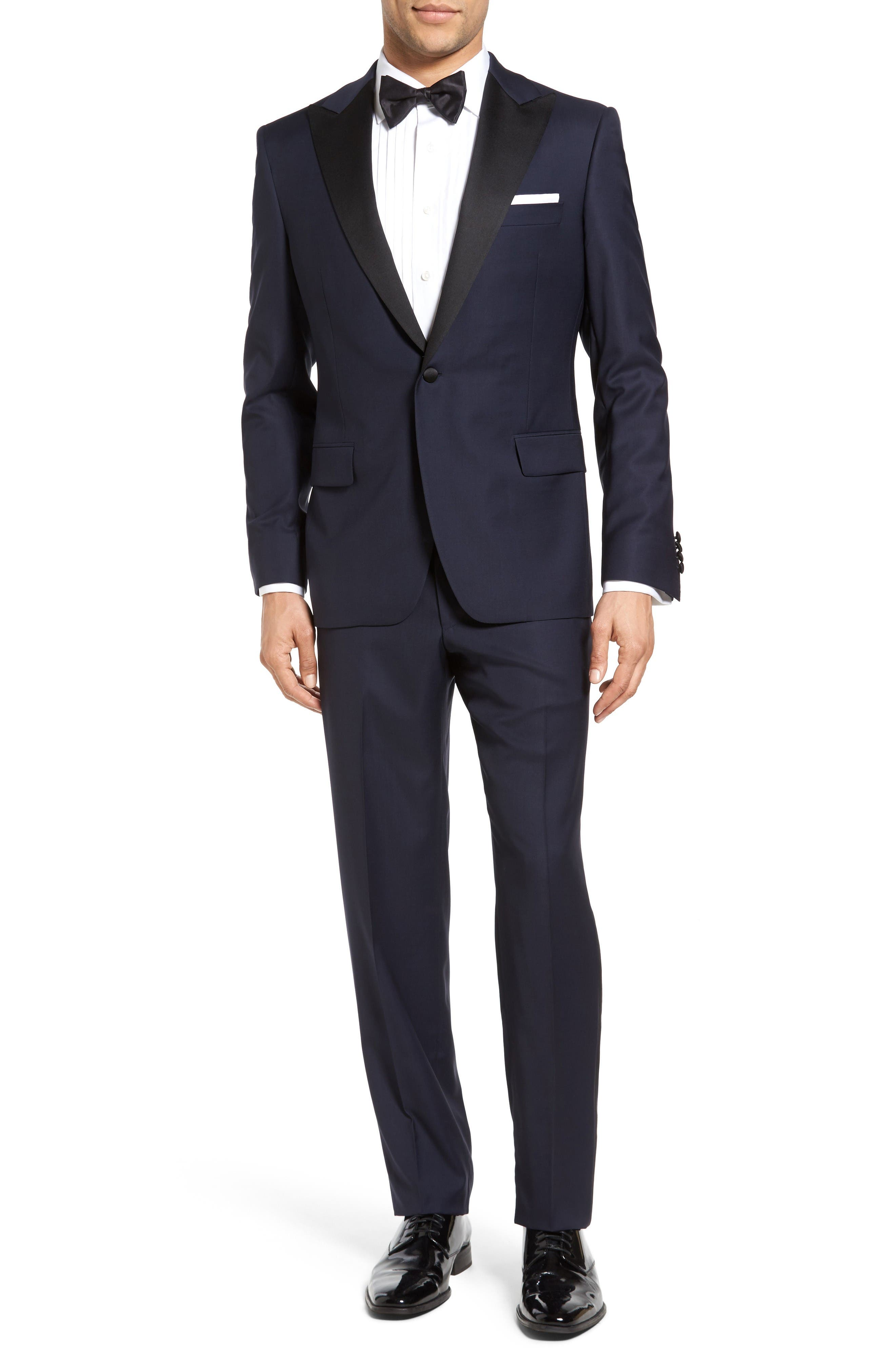 Samuelsohn Classic Fit Wool Tuxedo