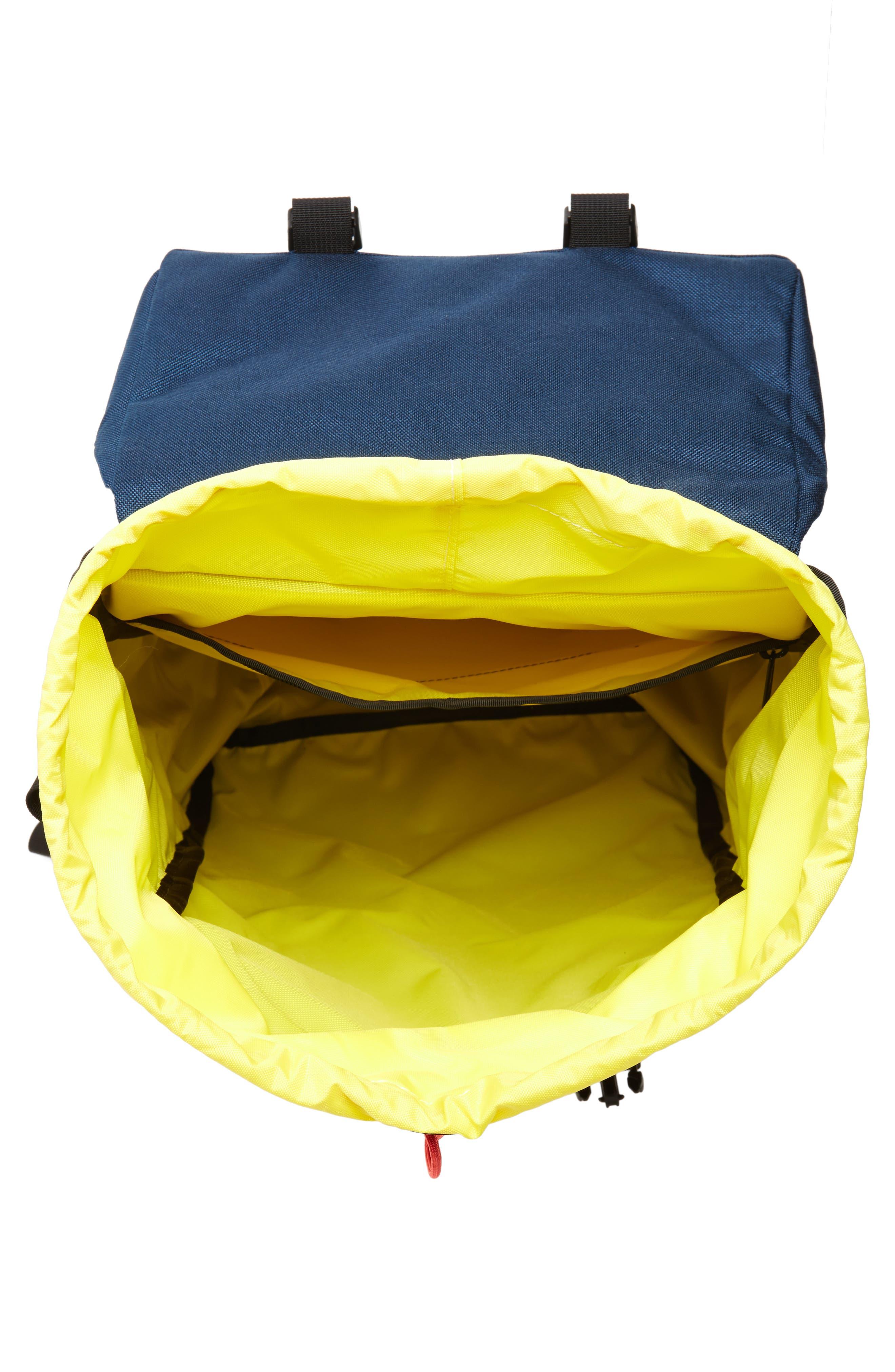 'Klettersack' Backpack,                             Alternate thumbnail 4, color,                             Navy