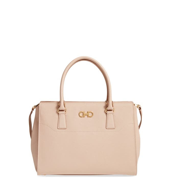 Main Image - Salvatore Ferragamo Saffiano Leather Tote