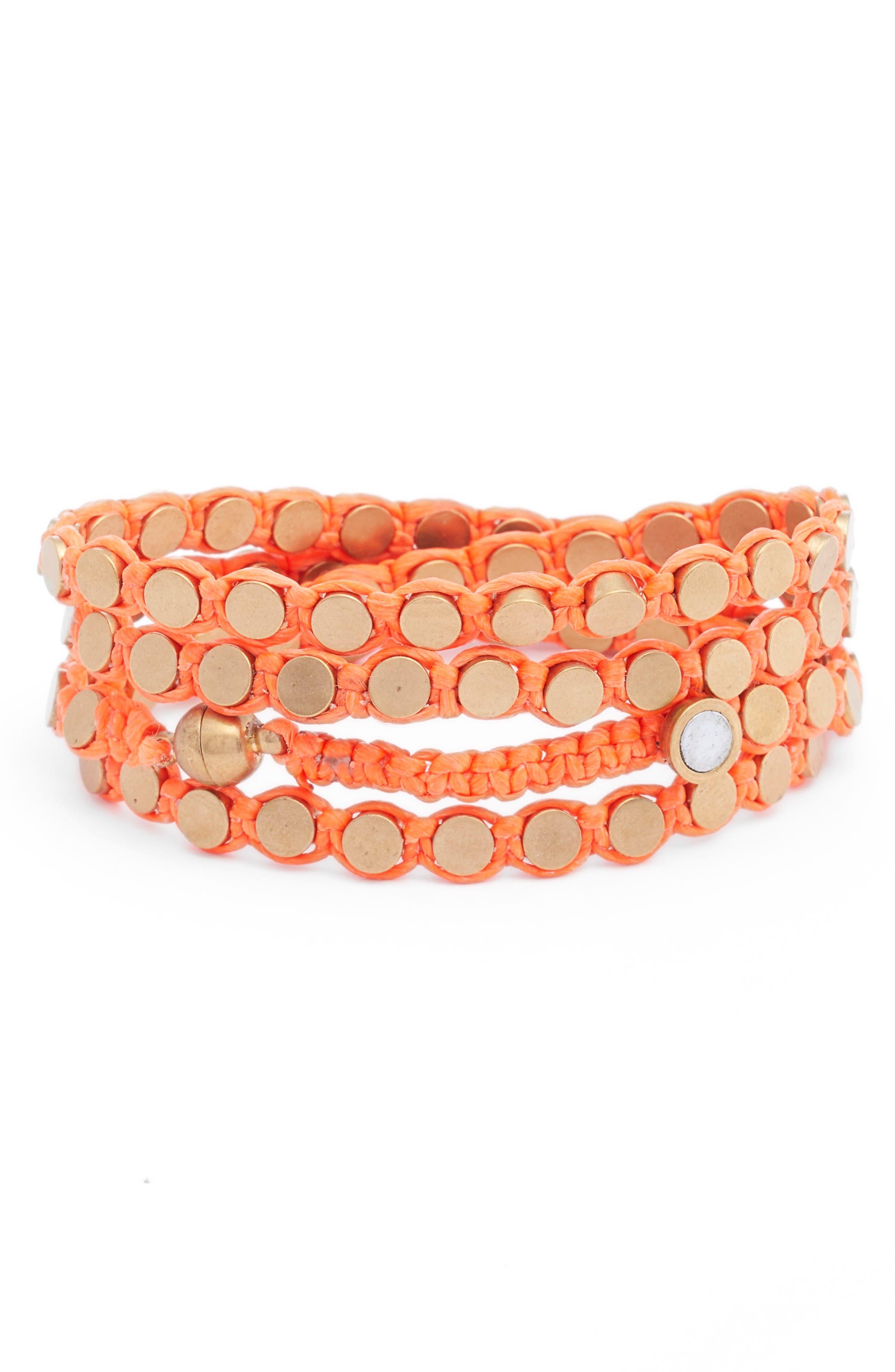 Alternate Image 2  - Serefina Wrap Disk Bracelet