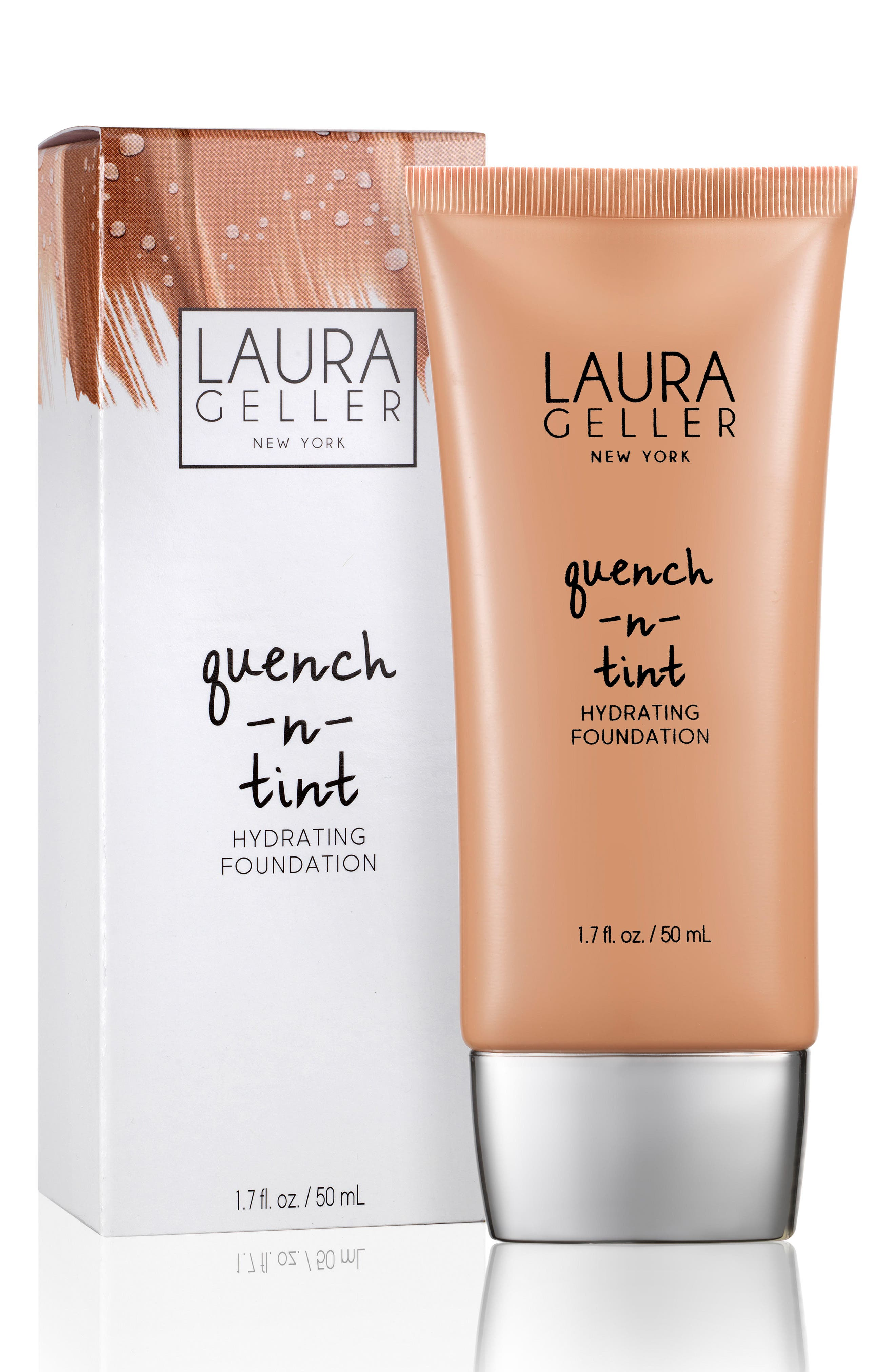 Alternate Image 2  - Laura Geller Beauty Quench-n-Tint Hydrating Foundation