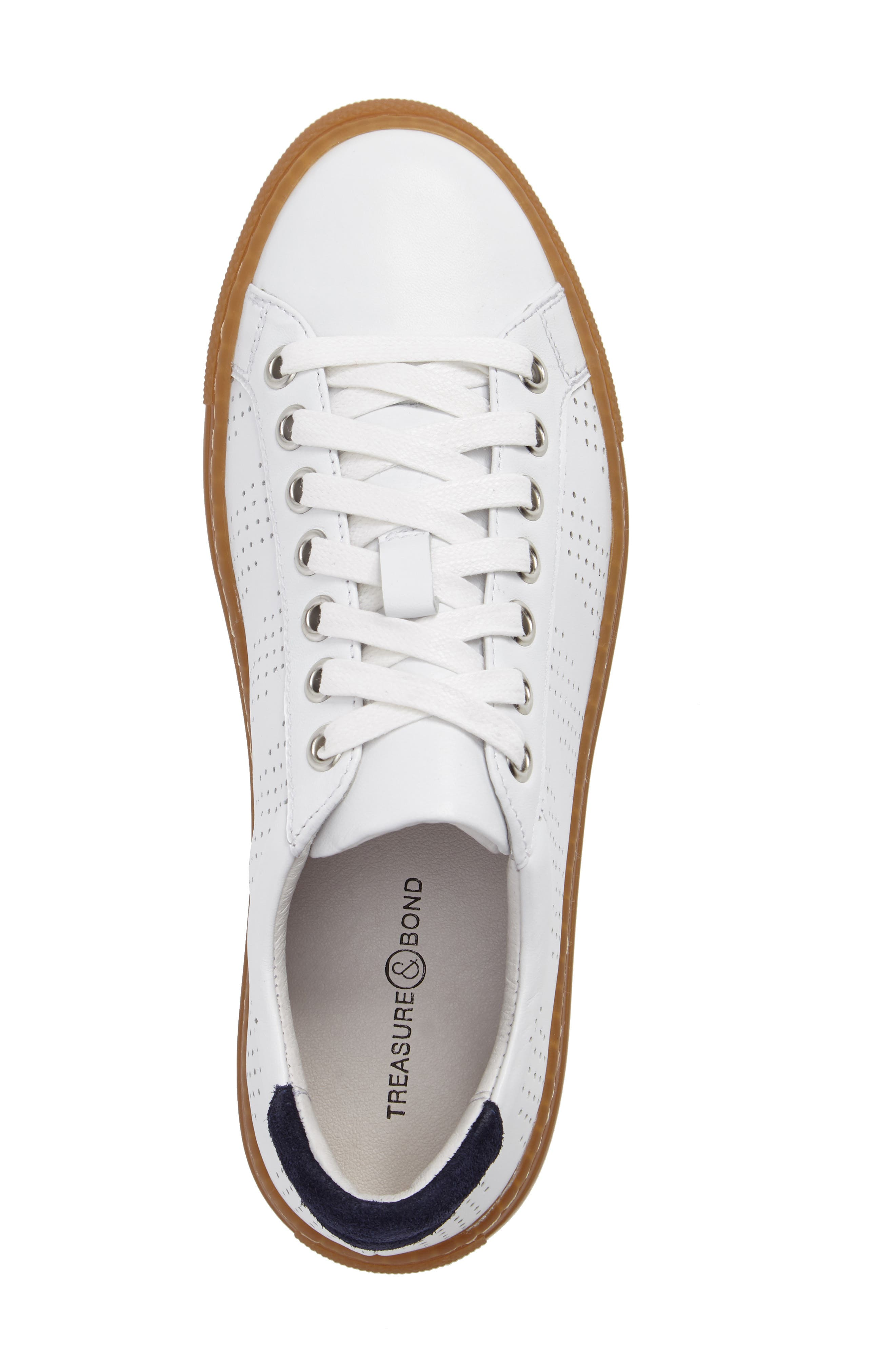 Alternate Image 5  - Treasure & Bond Merrick Perforated Sneaker (Women)