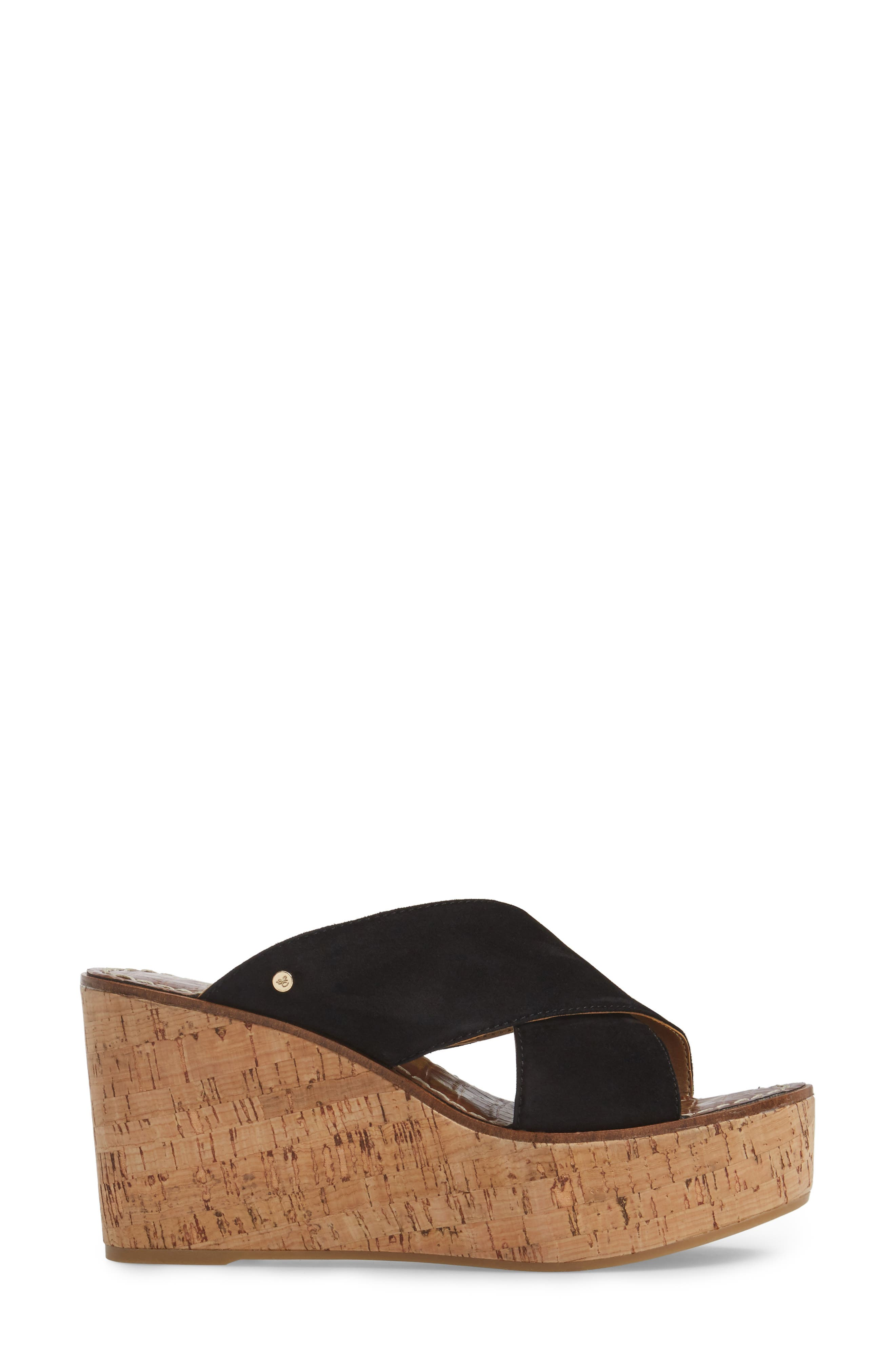 Alternate Image 3  - Sam Edelman Darlene Platform Wedge Sandal (Women)