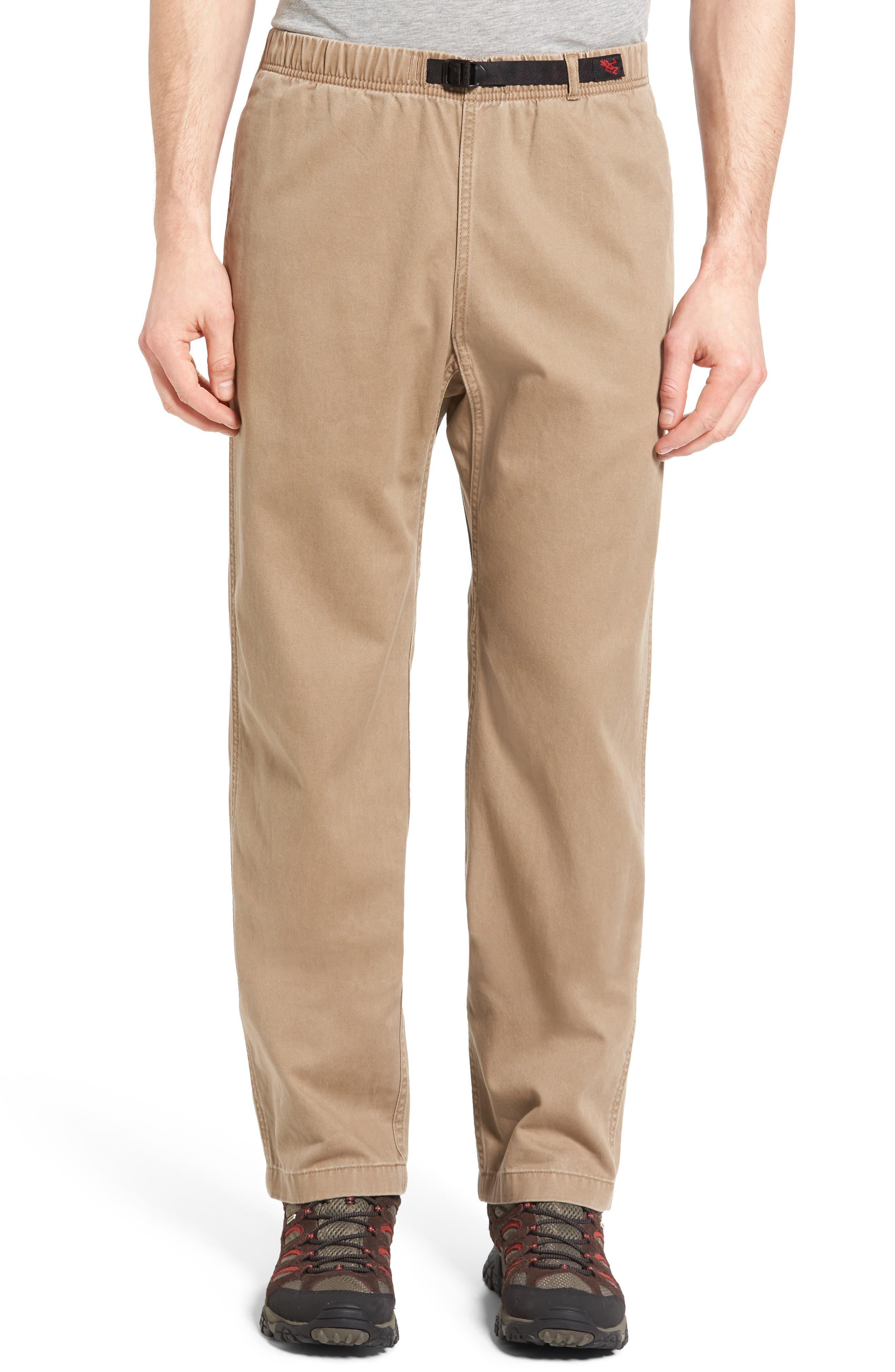 Original G Twill Climbing Pants,                         Main,                         color, Sahara Tan