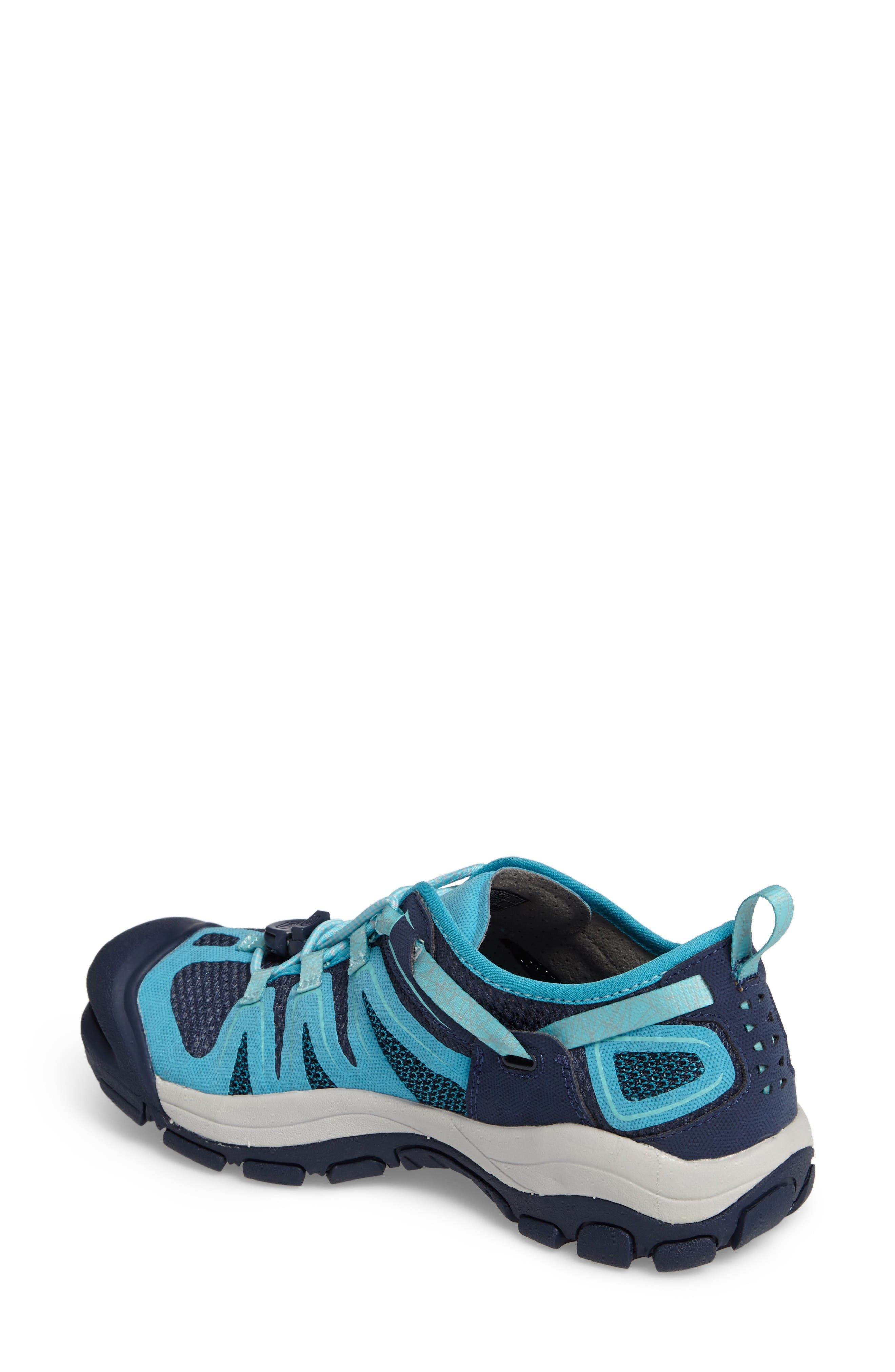 McKenzie II Waterproof Sneaker,                             Alternate thumbnail 2, color,                             Dress Blues/ Algiers Fabric