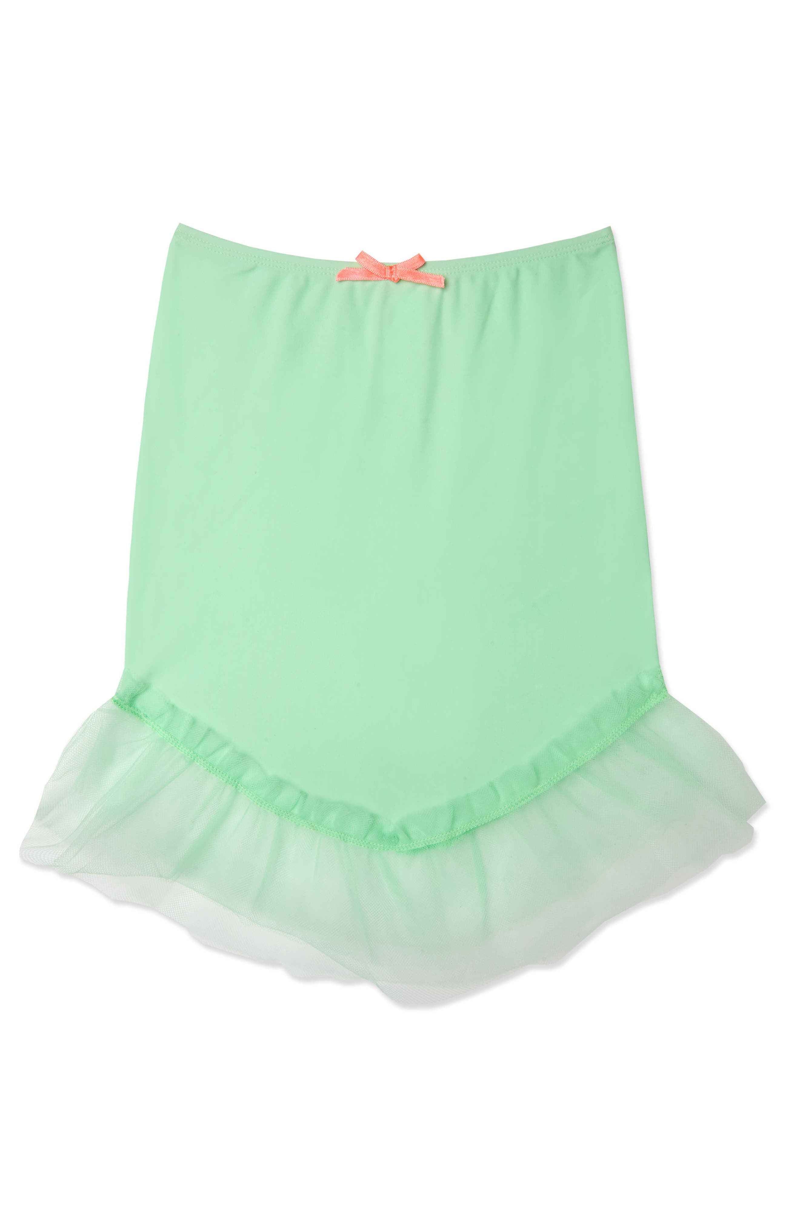 Mermaid Cover-Up Skirt,                         Main,                         color, Green