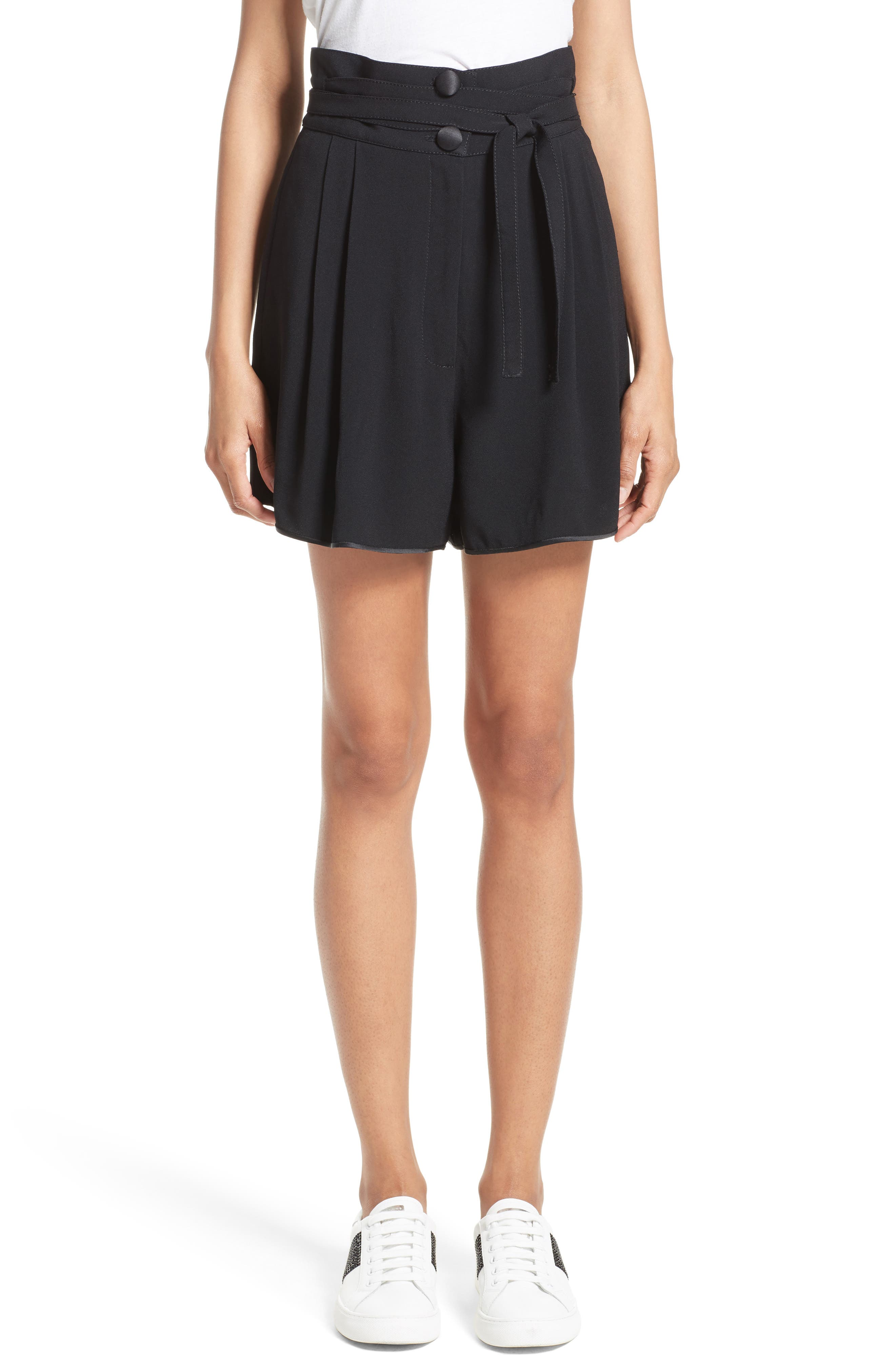 MARC JACOBS Tie Waist Shorts