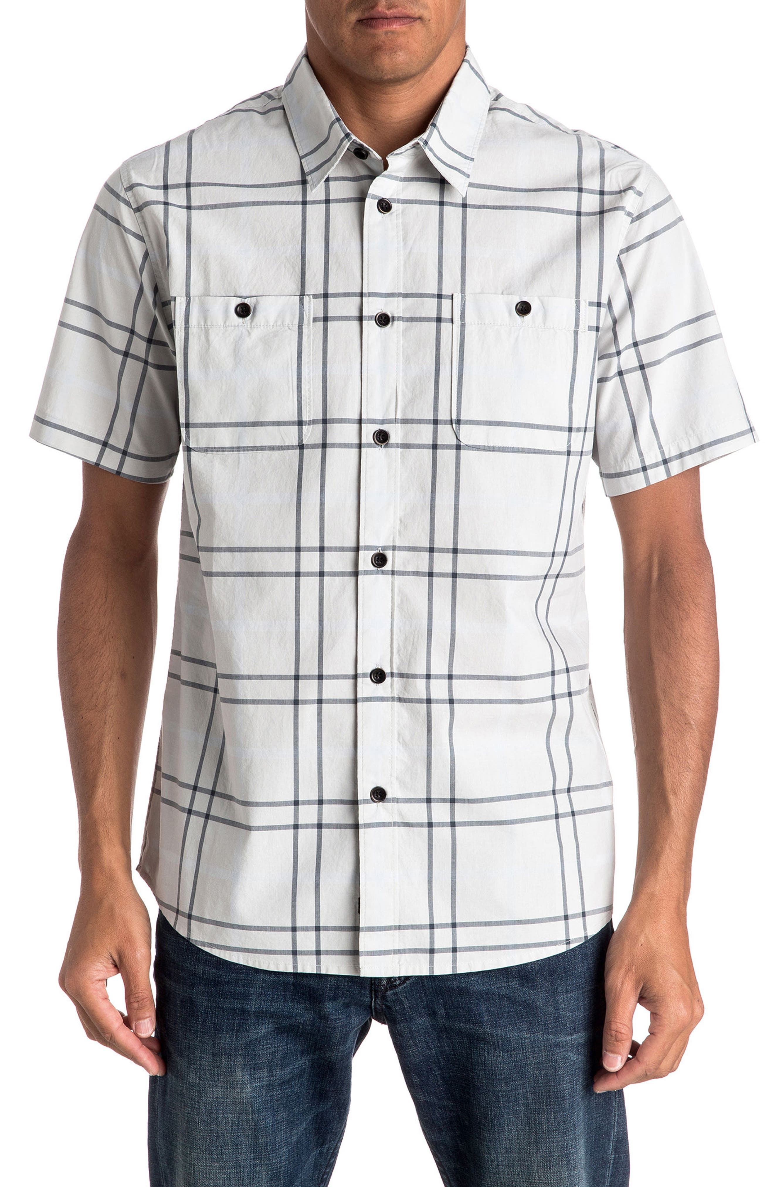 QUIKSILVER Grandview Short Sleeve Sport Shirt