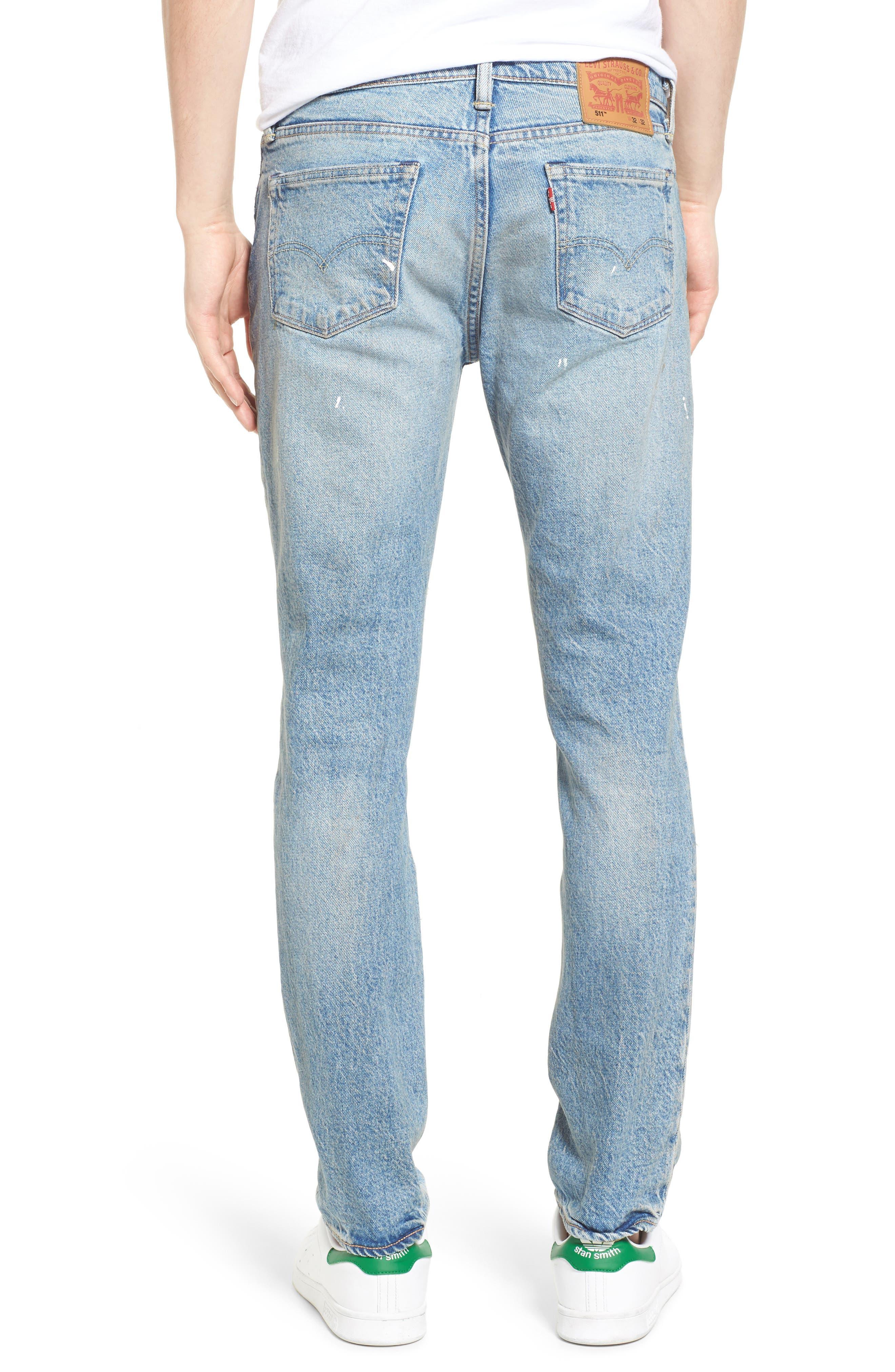 511<sup>™</sup> Slim Fit Jeans,                             Alternate thumbnail 2, color,                             Michigan Dx